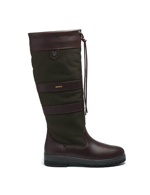 Dubarry Womens Galway - Olive Leather