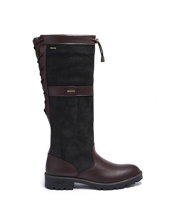 Dubarry Womens Glanmire - Black/Brown Leather