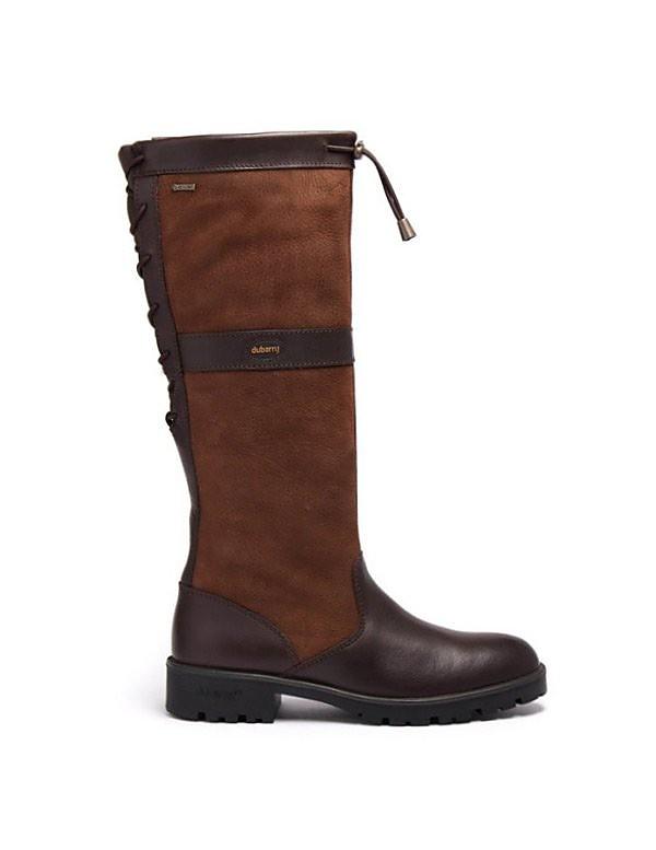 Dubarry Women's Glanmire Tall Leather Boots - Walnut