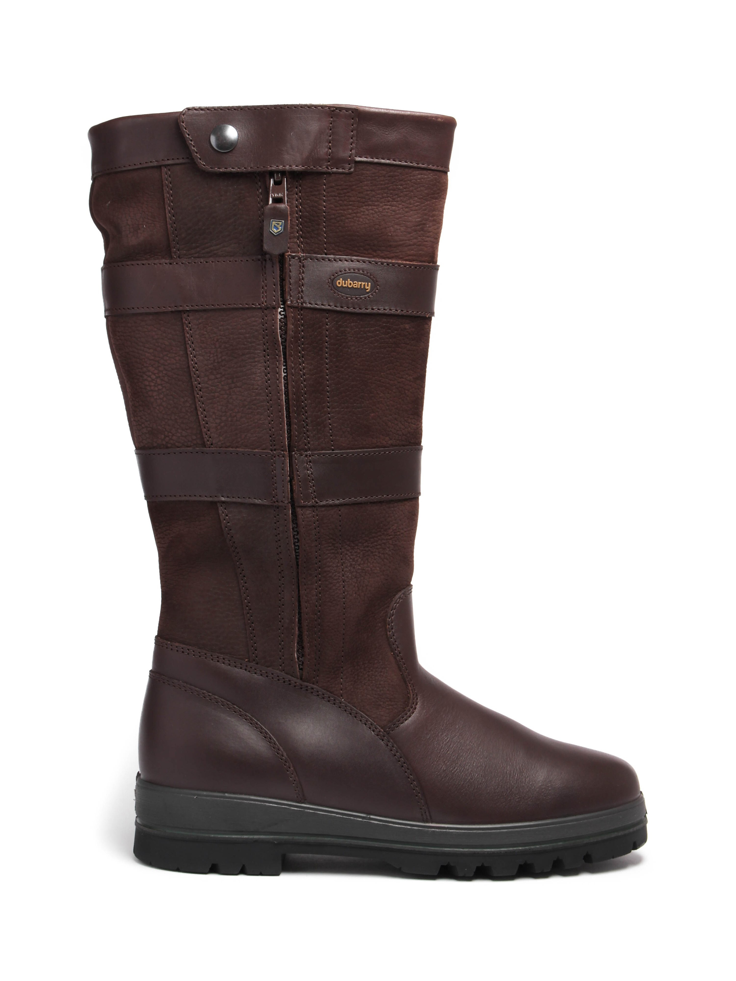 Dubarry Men's Wexford Tall Leather Boots - Java