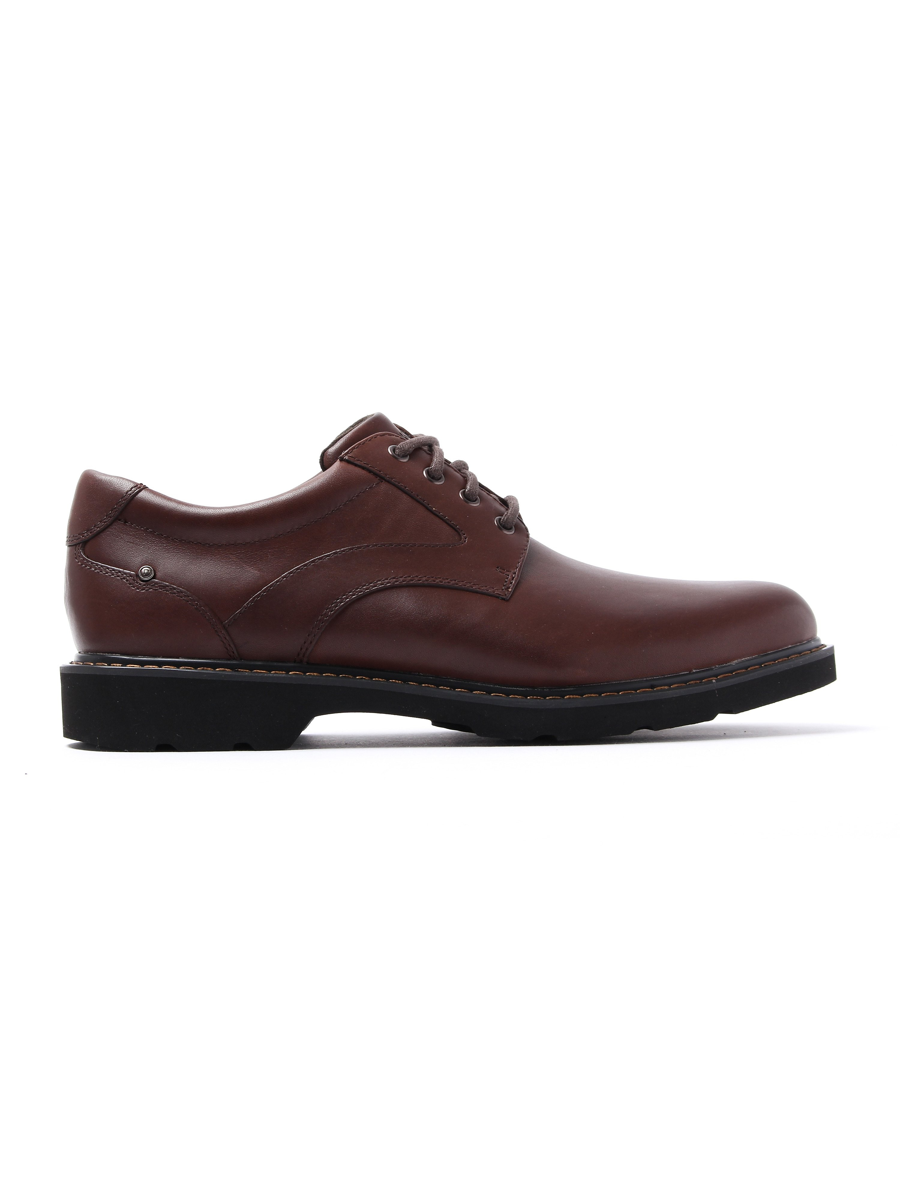 Rockport Men's Charles View Leather Derby Shoes - Brown