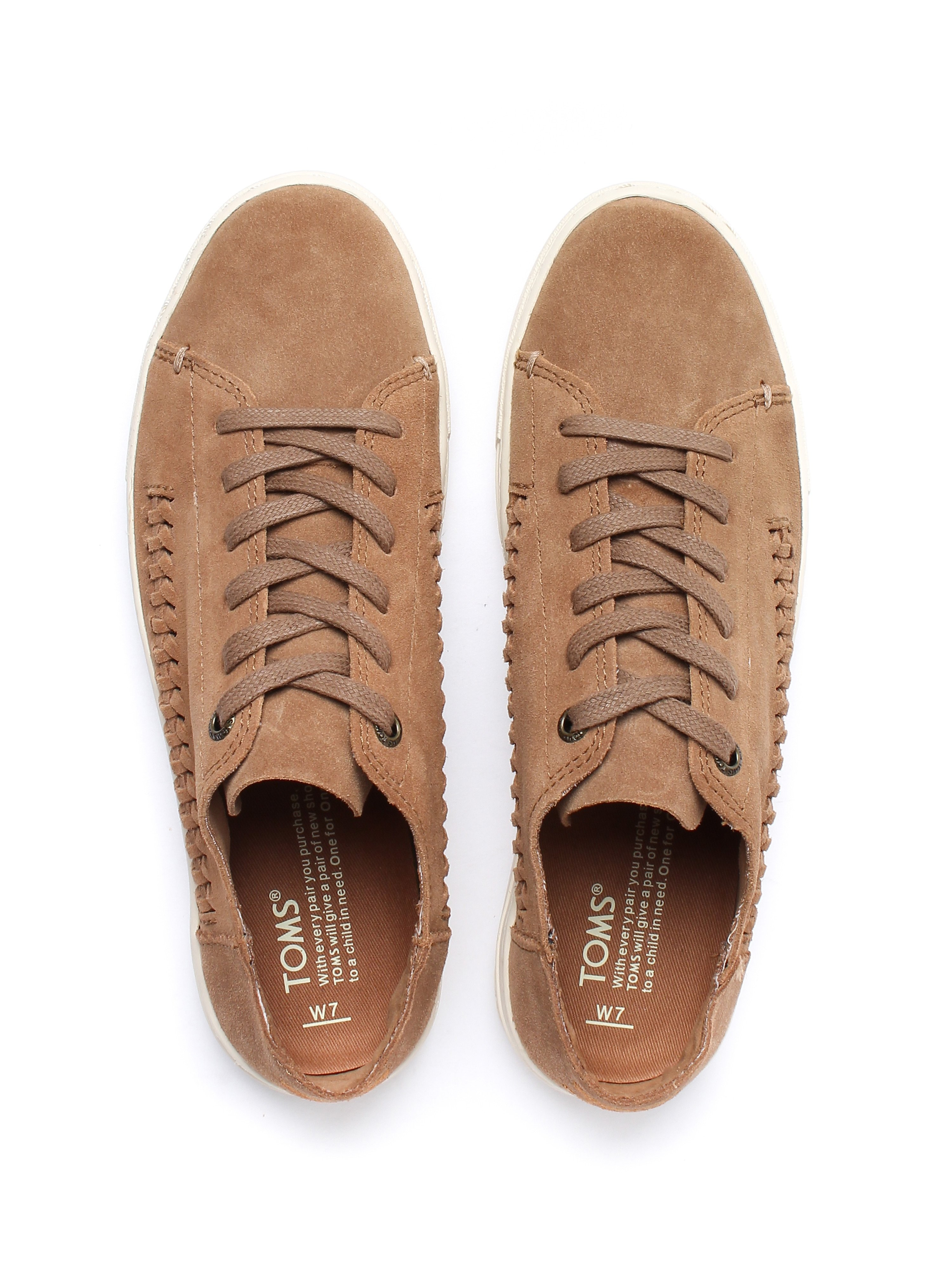 Toms Women's Lenox Deconstructed Trainers - Toffee Suede