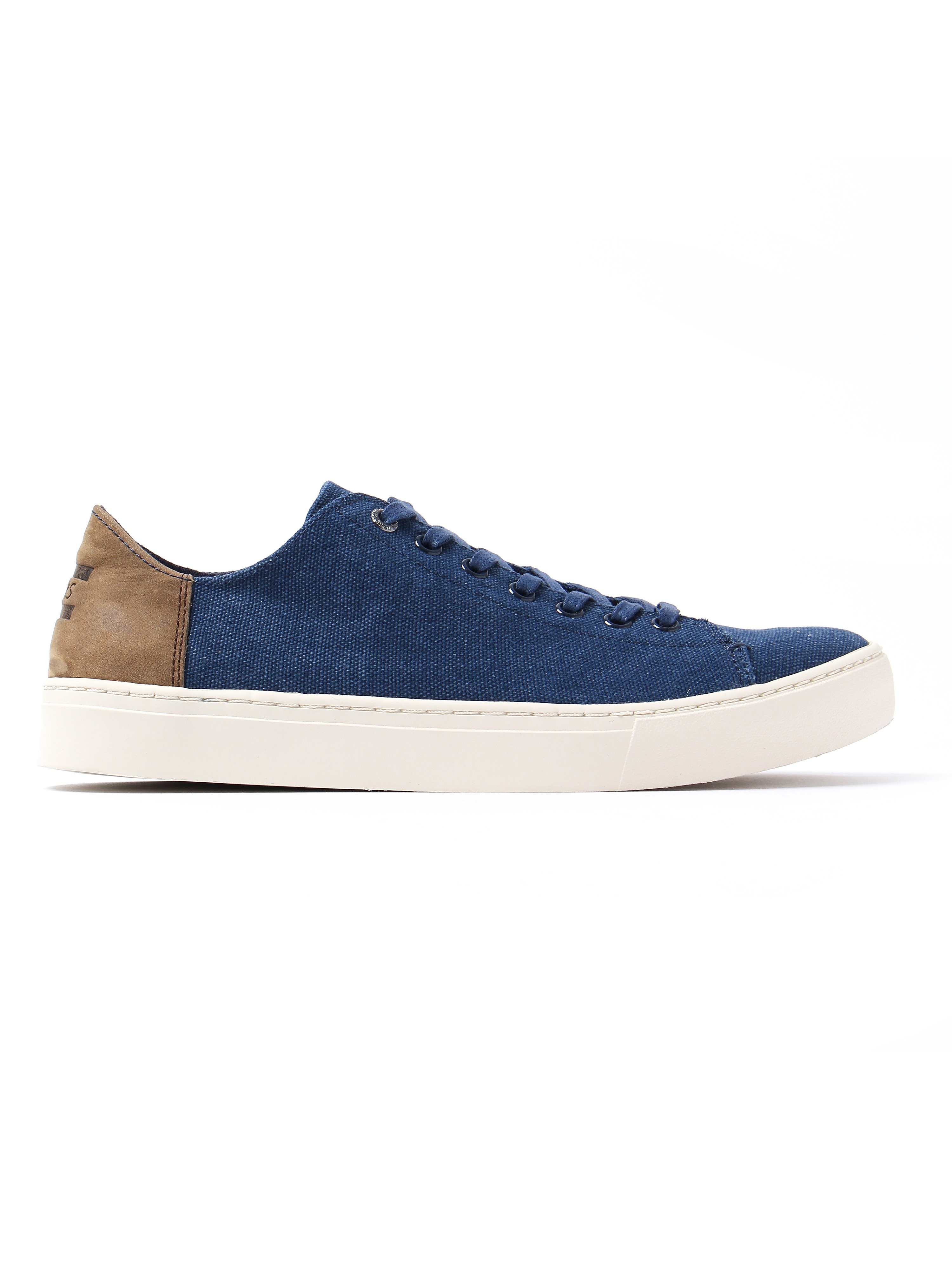 Toms Men's Lenox Washed Canvas Trainers - Navy