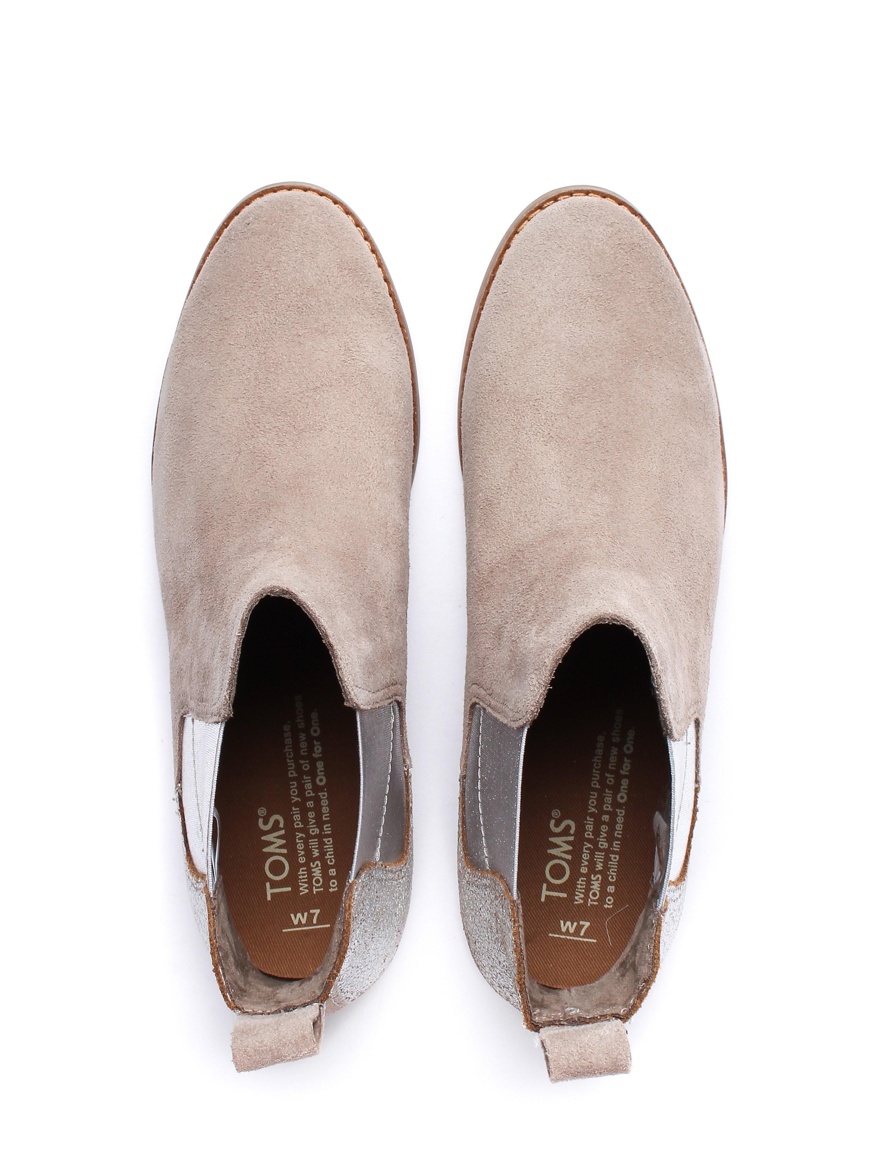 Toms Women's Ella Chelsea Boots - Taupe