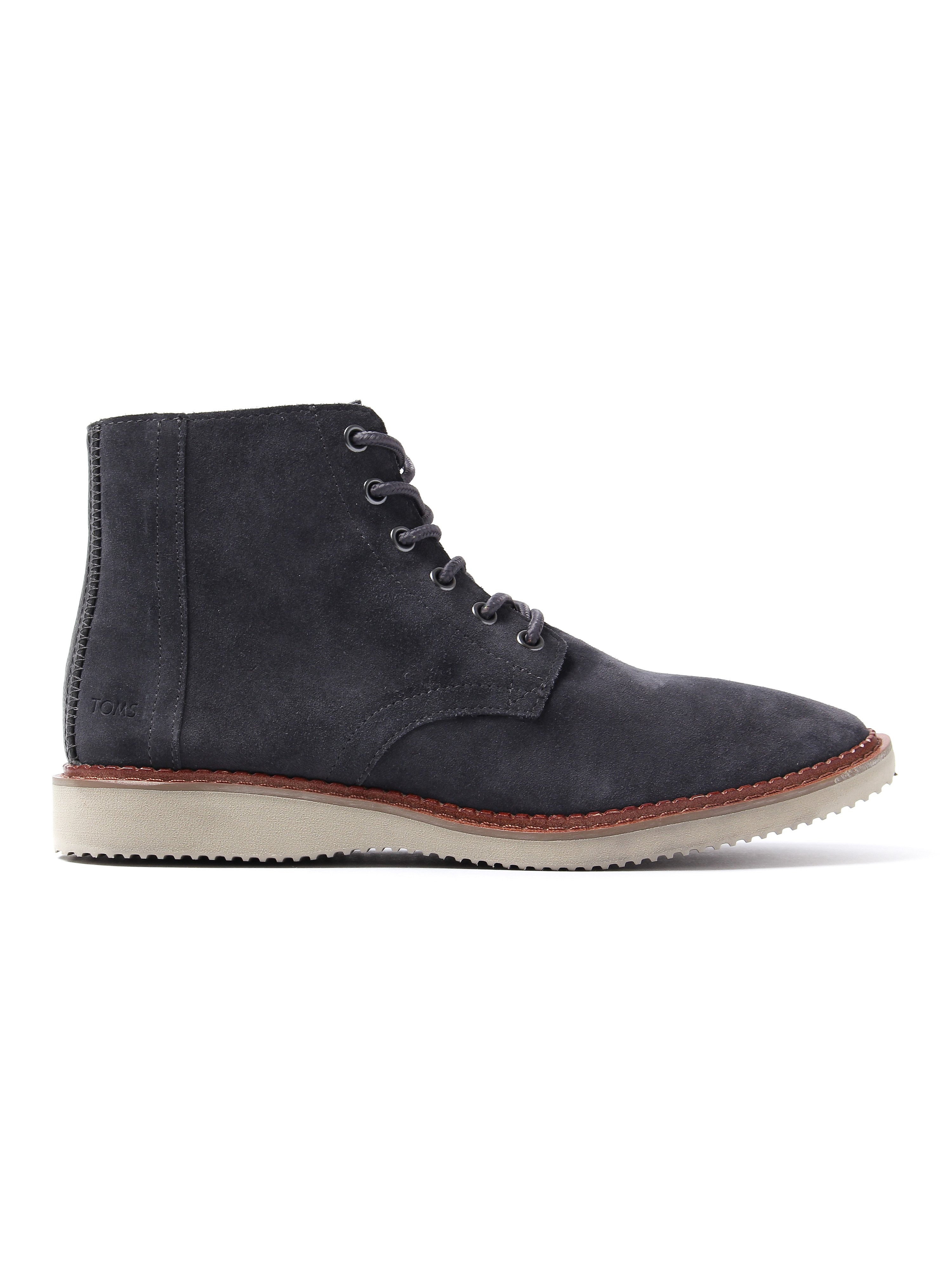 Toms Men's Porter Boots - Forged Iron Suede