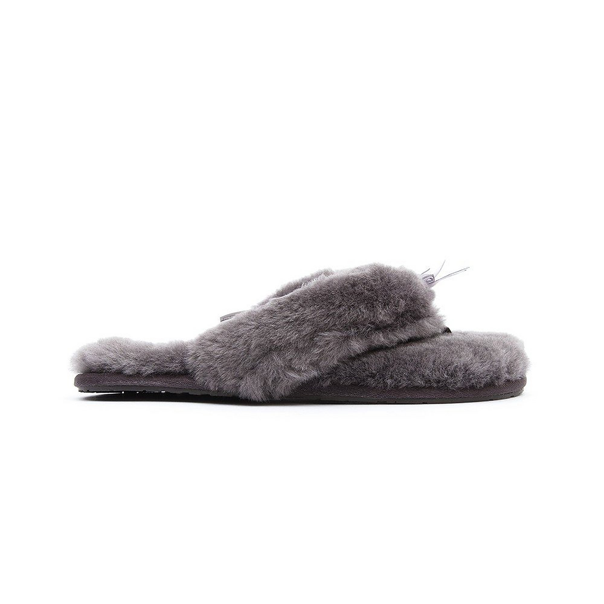 UGG Women's Fluff Flip Flop II - Grey