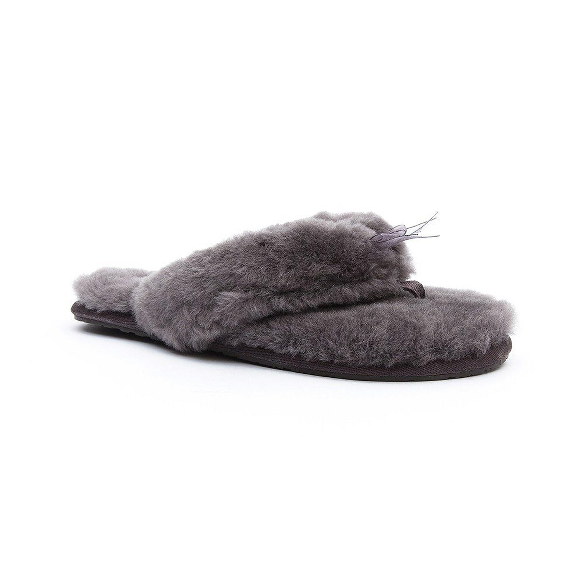 UGG Women's Fluff II Flip Flops - Grey