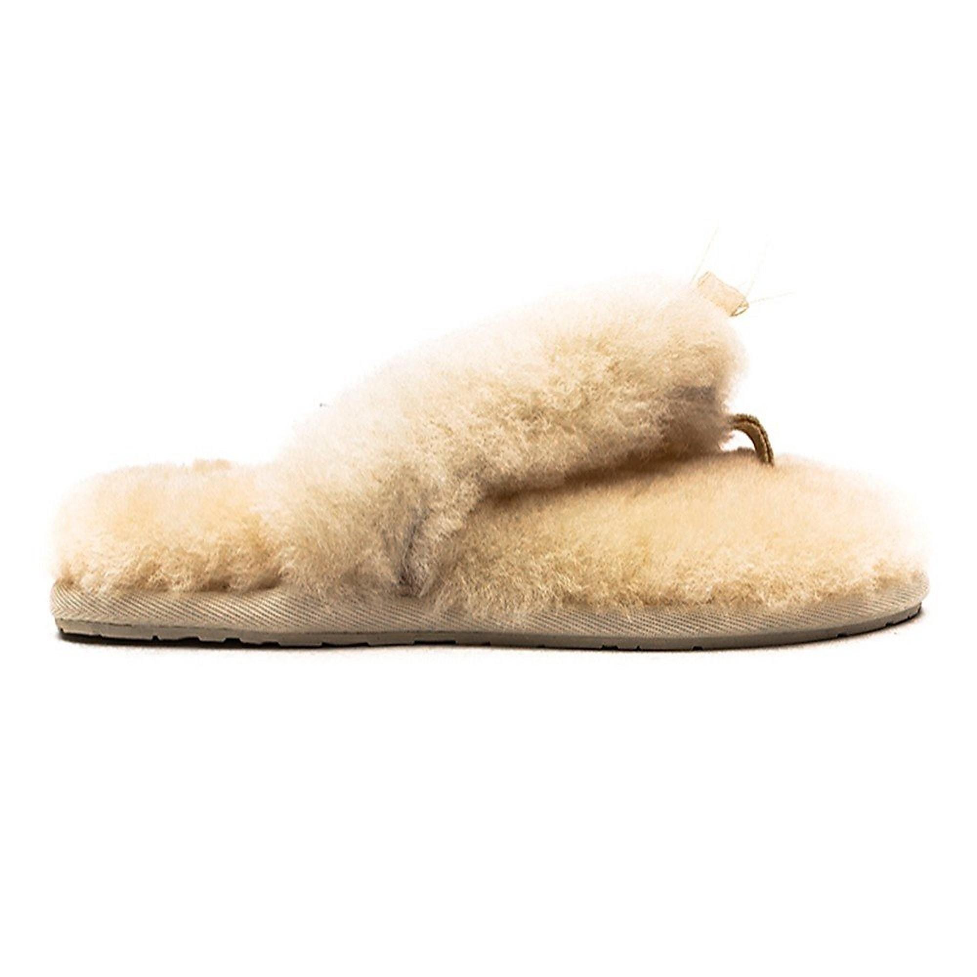 UGG Women's Fluff II Flip Flops - Cream