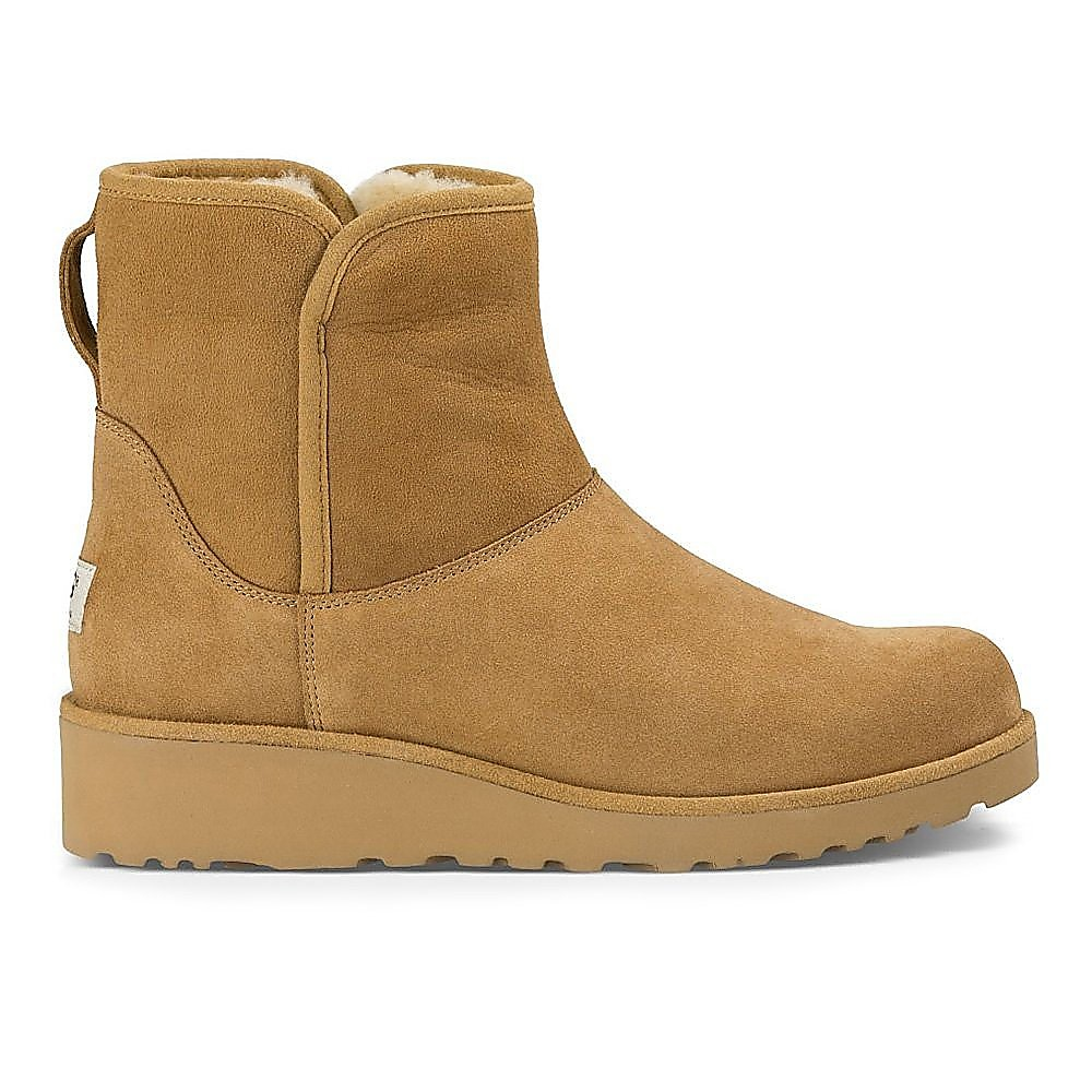 Ugg Women's Kristin Slim Sheepskin Boots - Chestnut