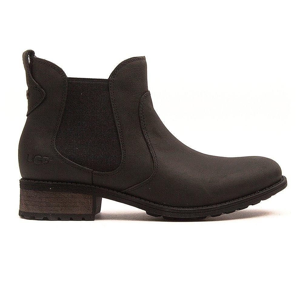 UGG Women's Bonham Boots - Black Leather