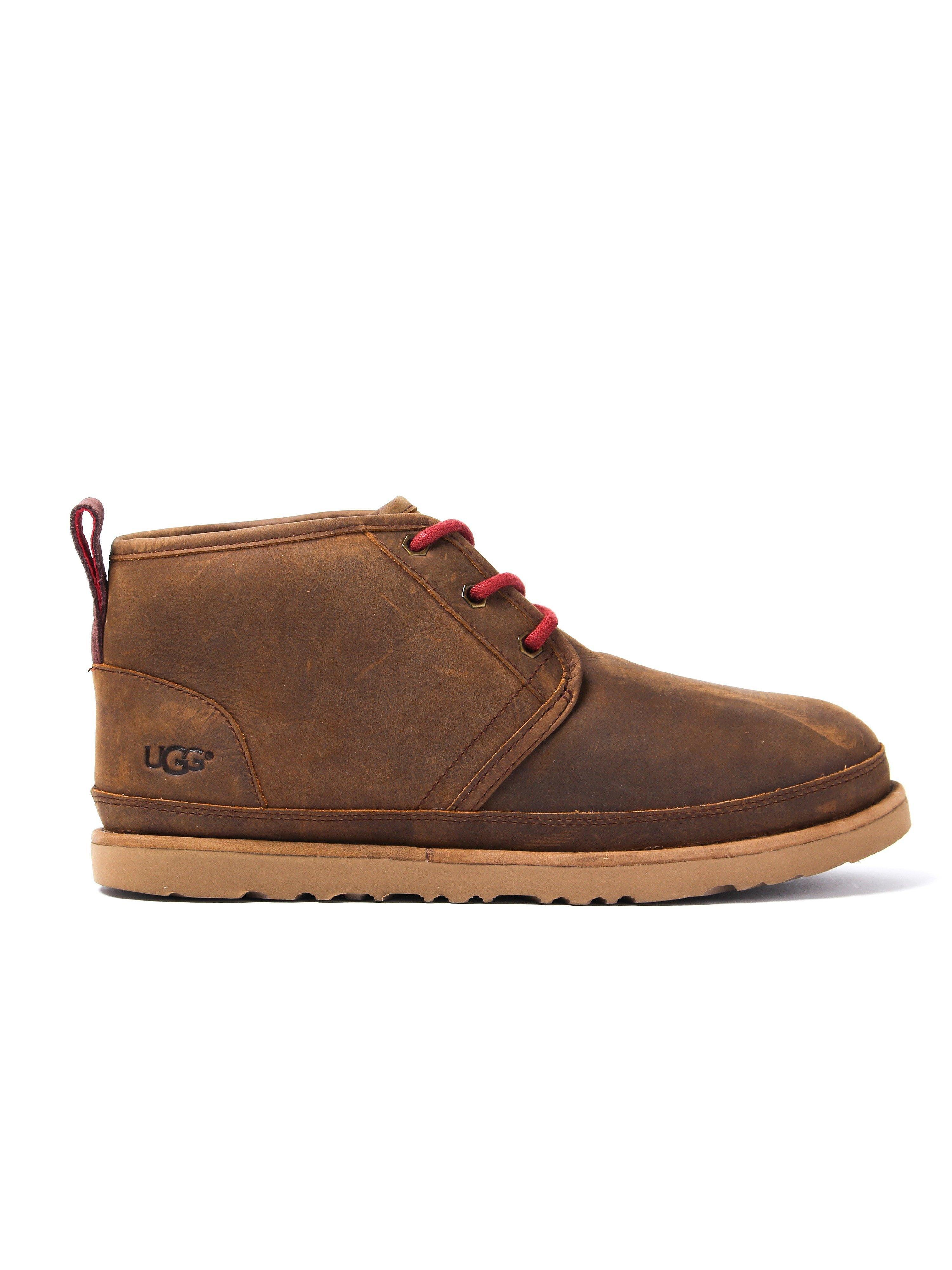 UGG Men's M Neumel Waterproof Boots - Tan Suede