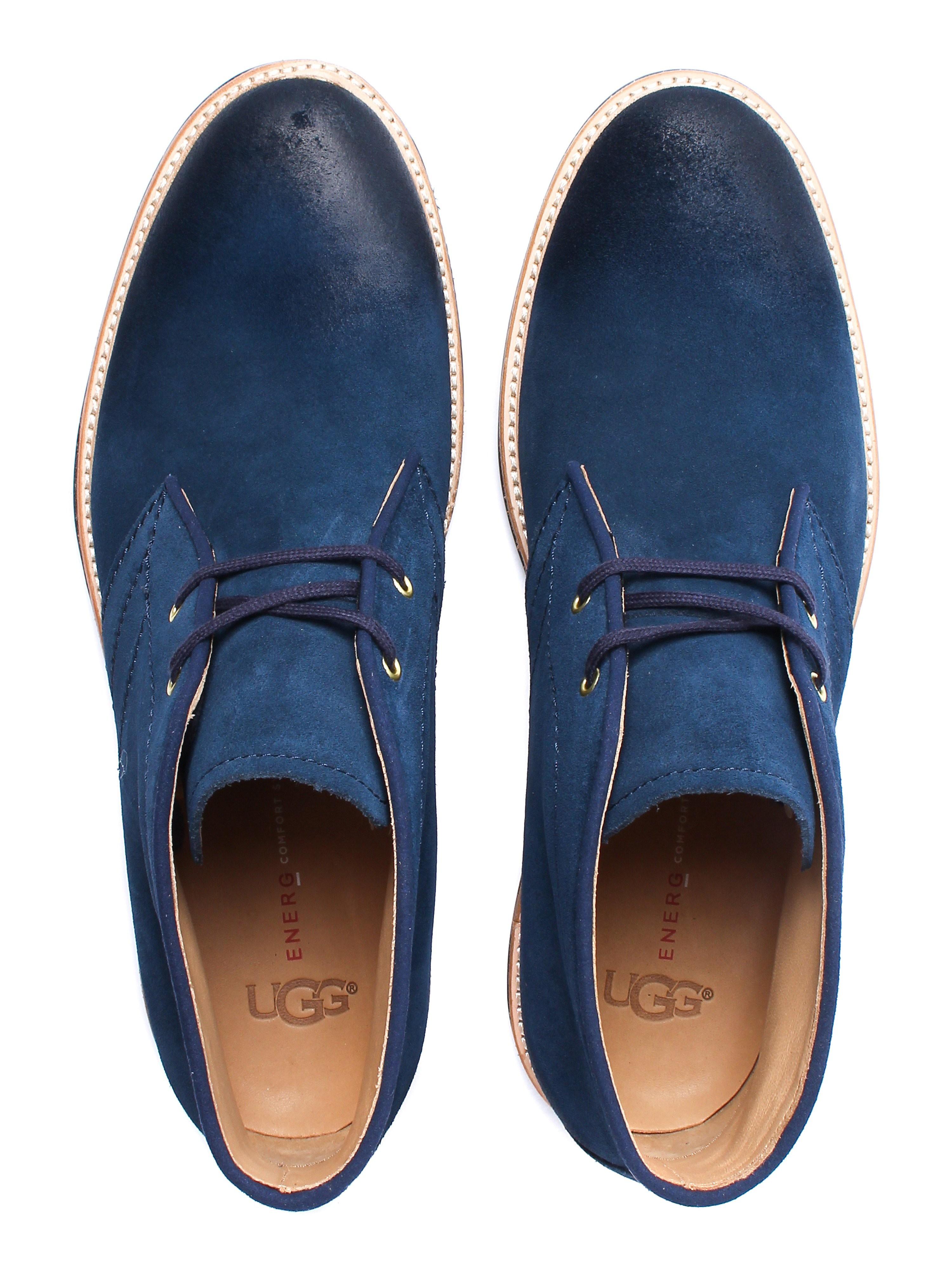 UGG Men's Dagmann Boots - Navy Suede