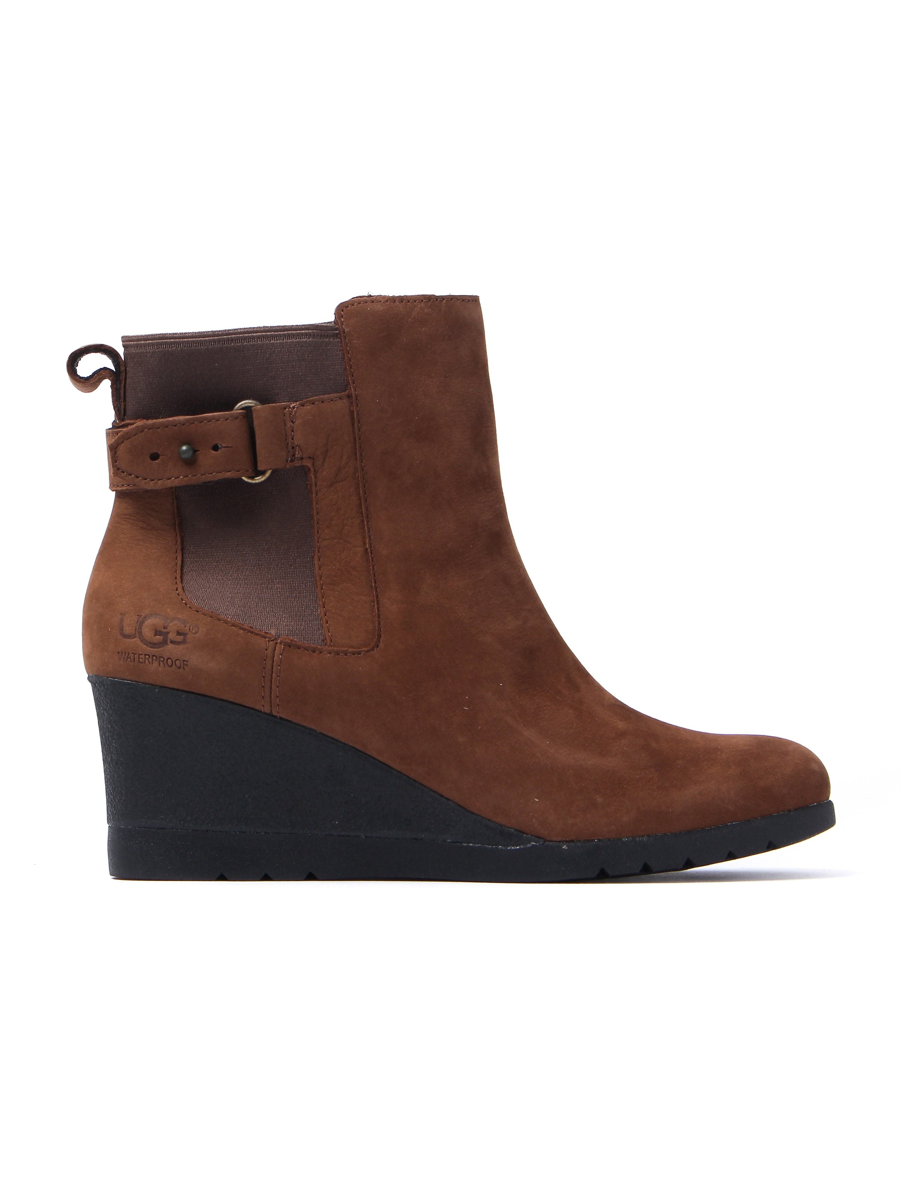 UGG Women's Indra Waterproof Boots - Stout Leather