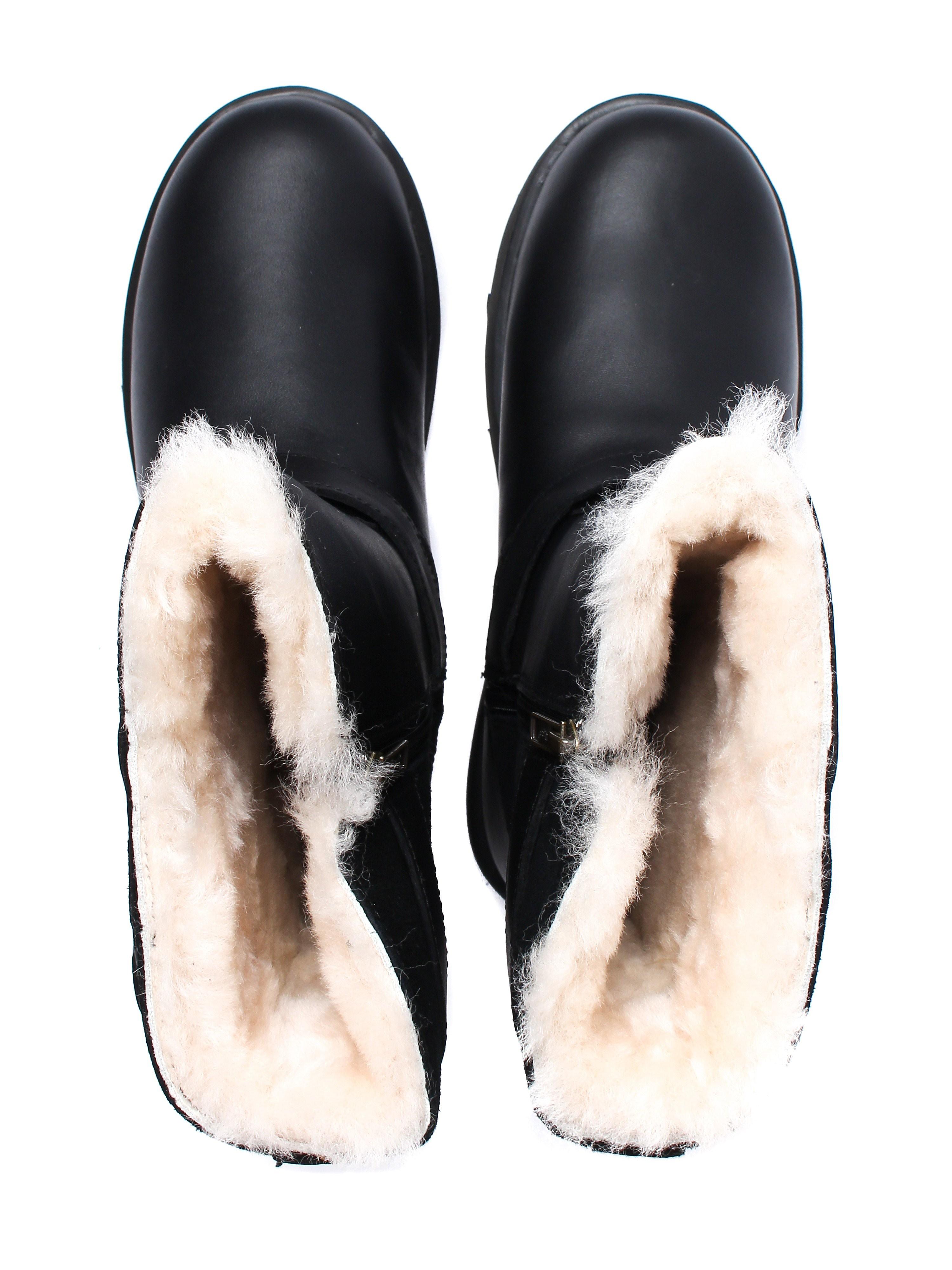 UGG Women's Waterproof Breida Boots - Black Leather
