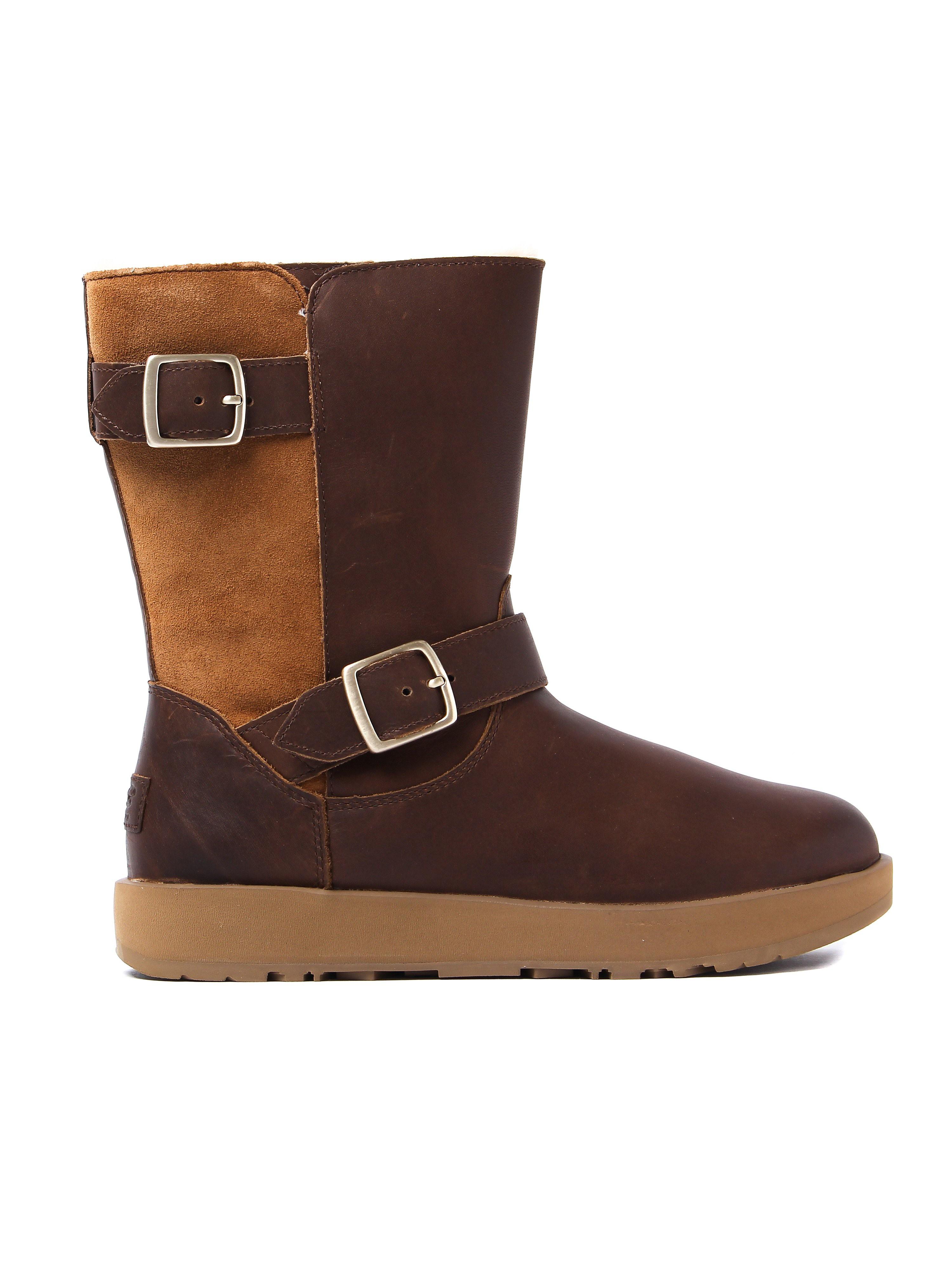 UGG Women's Waterproof Breida Boots - Chestnut Leather