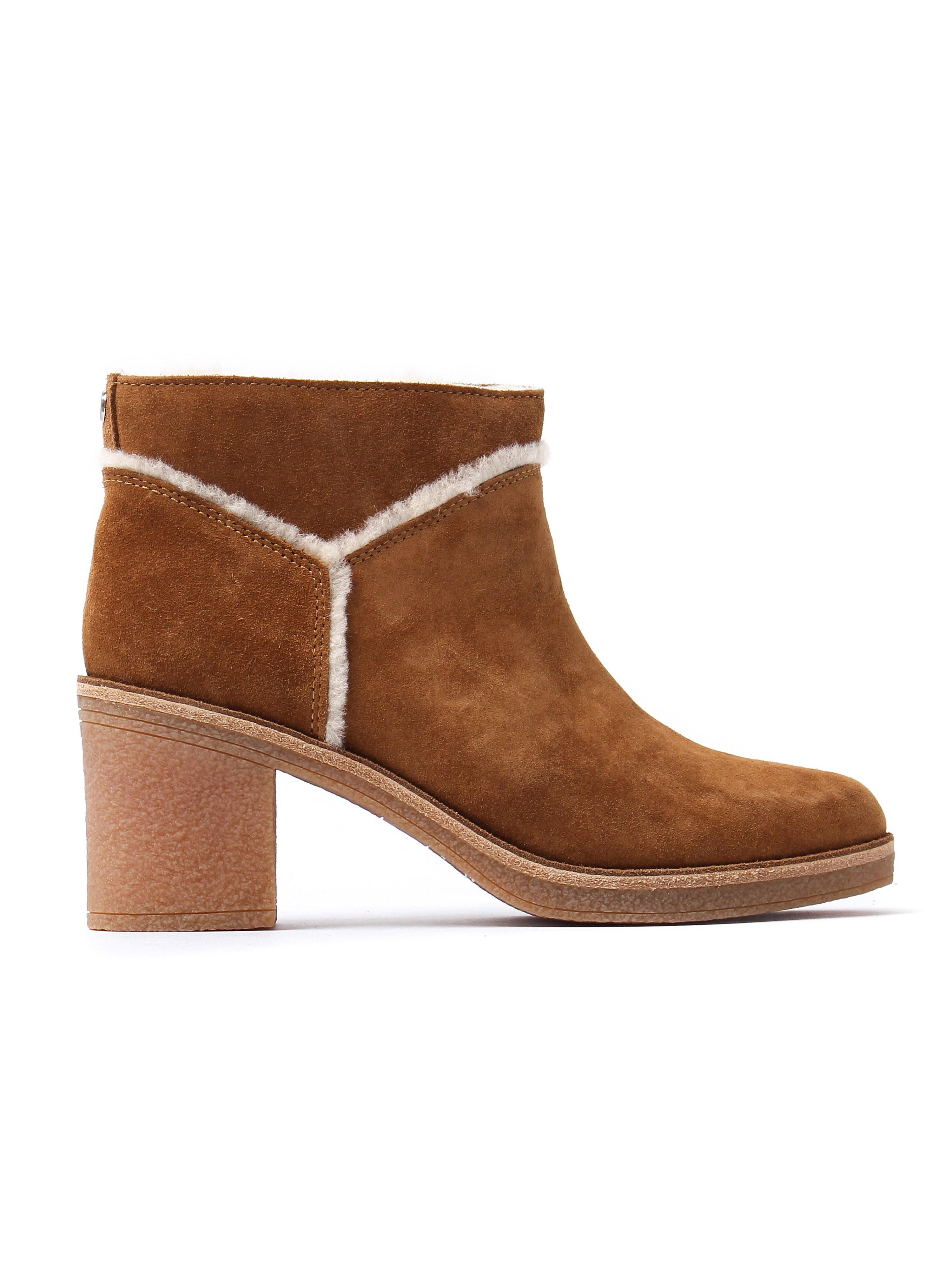 UGG Women's Kasen Ankle Boots - Chestnut