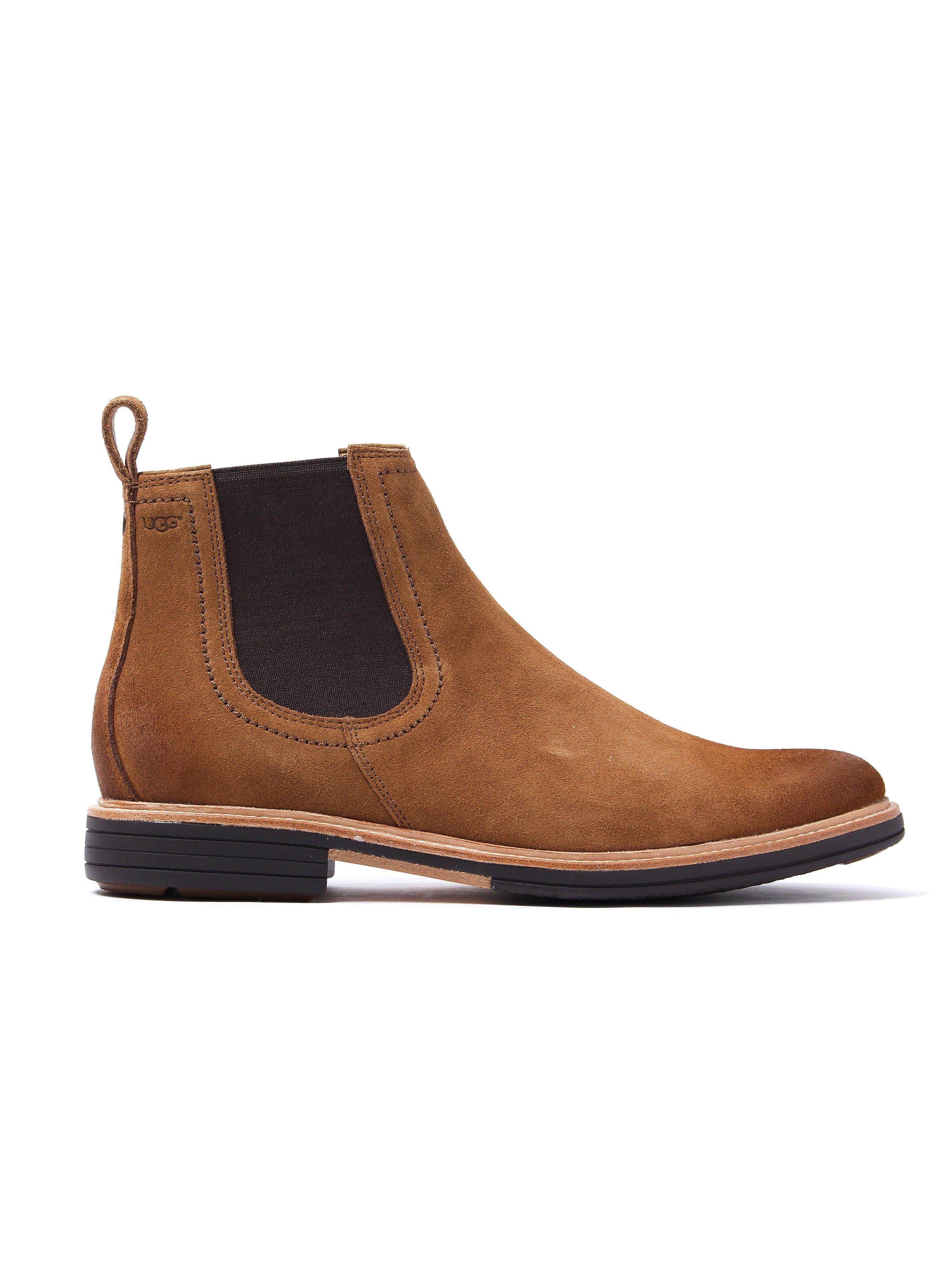 UGG Men's Baldvin Chelsea Boots - Chestnut Suede