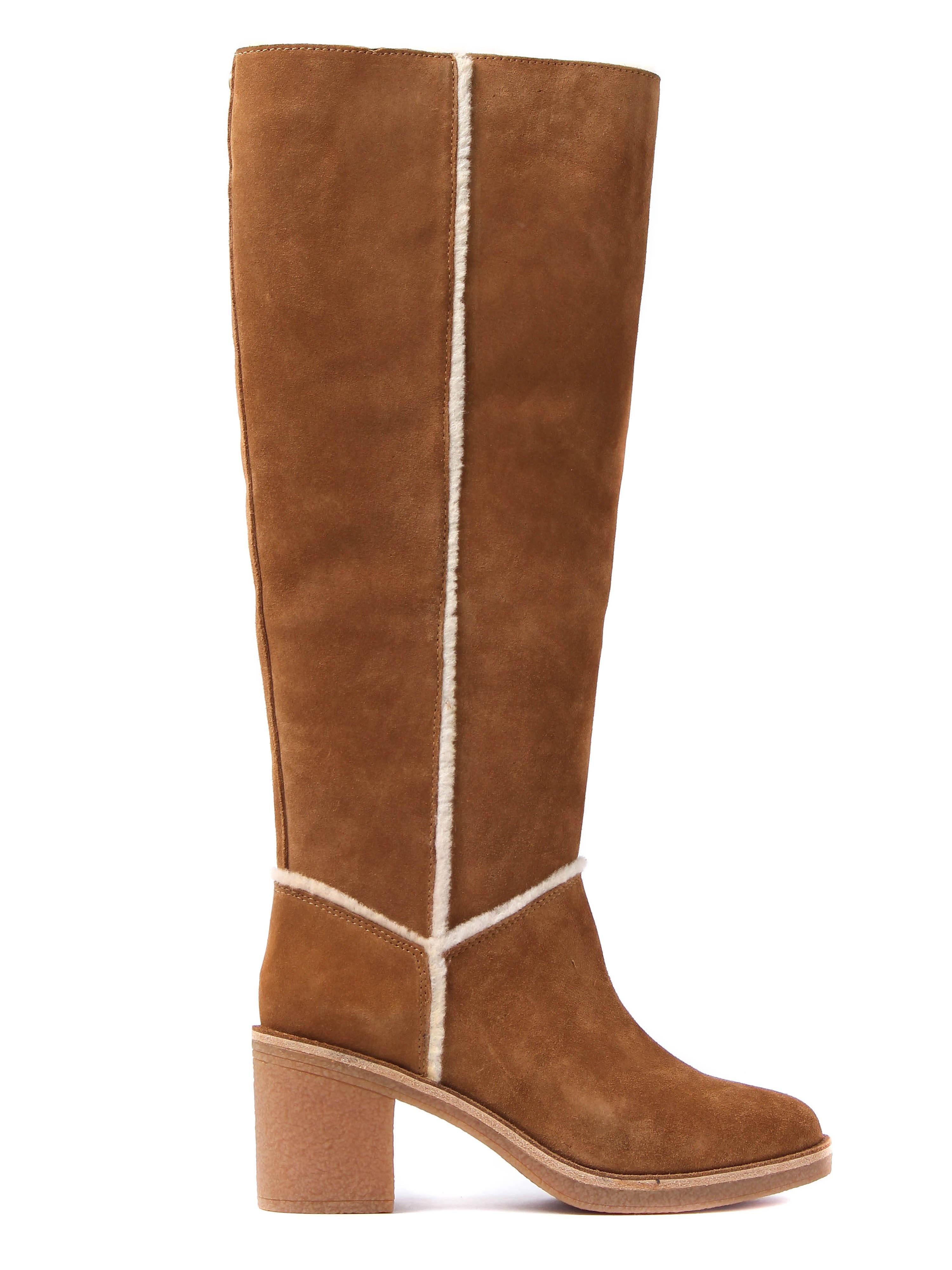 UGG Women's Kasen Tall Boots - Chestnut