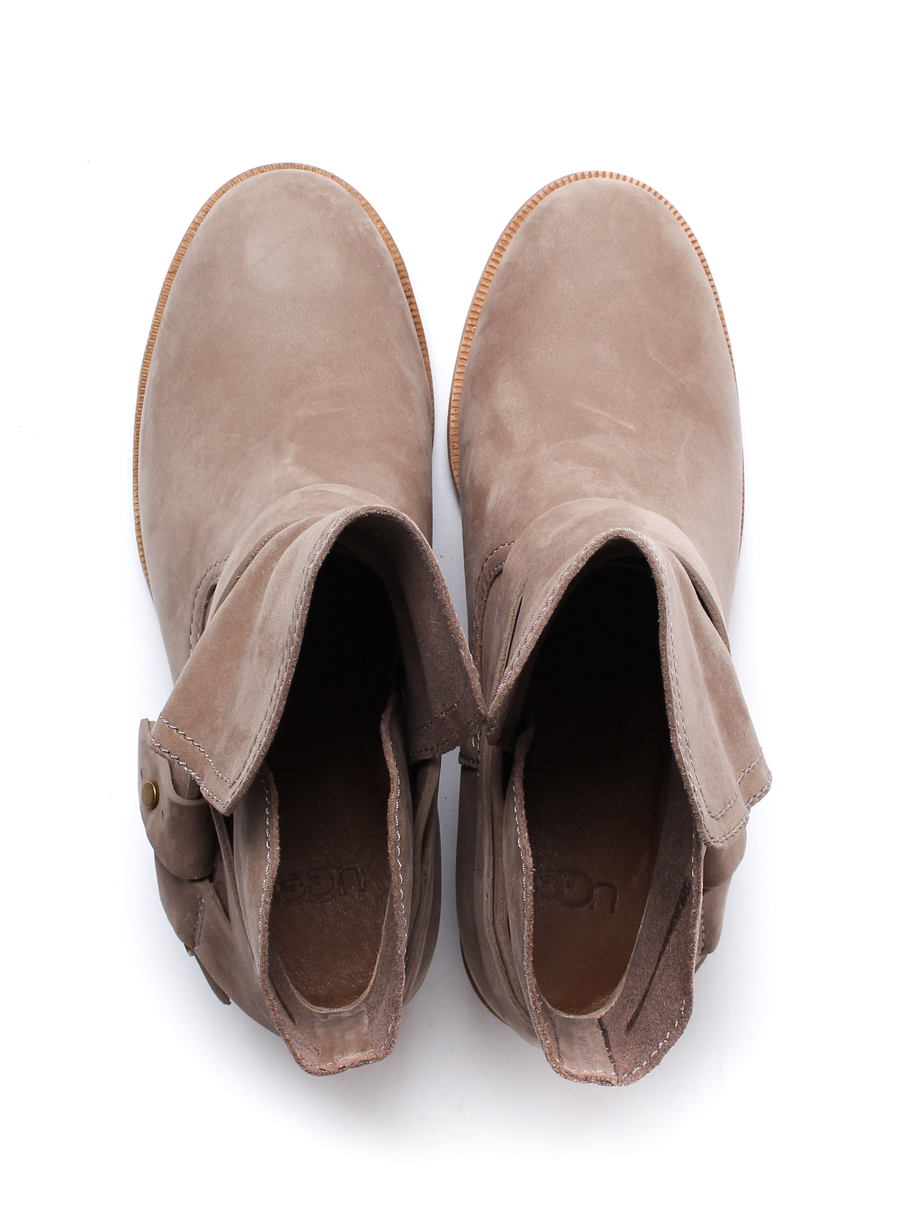 UGG Women's Elora Ankle Boots - Sahara Nubuck
