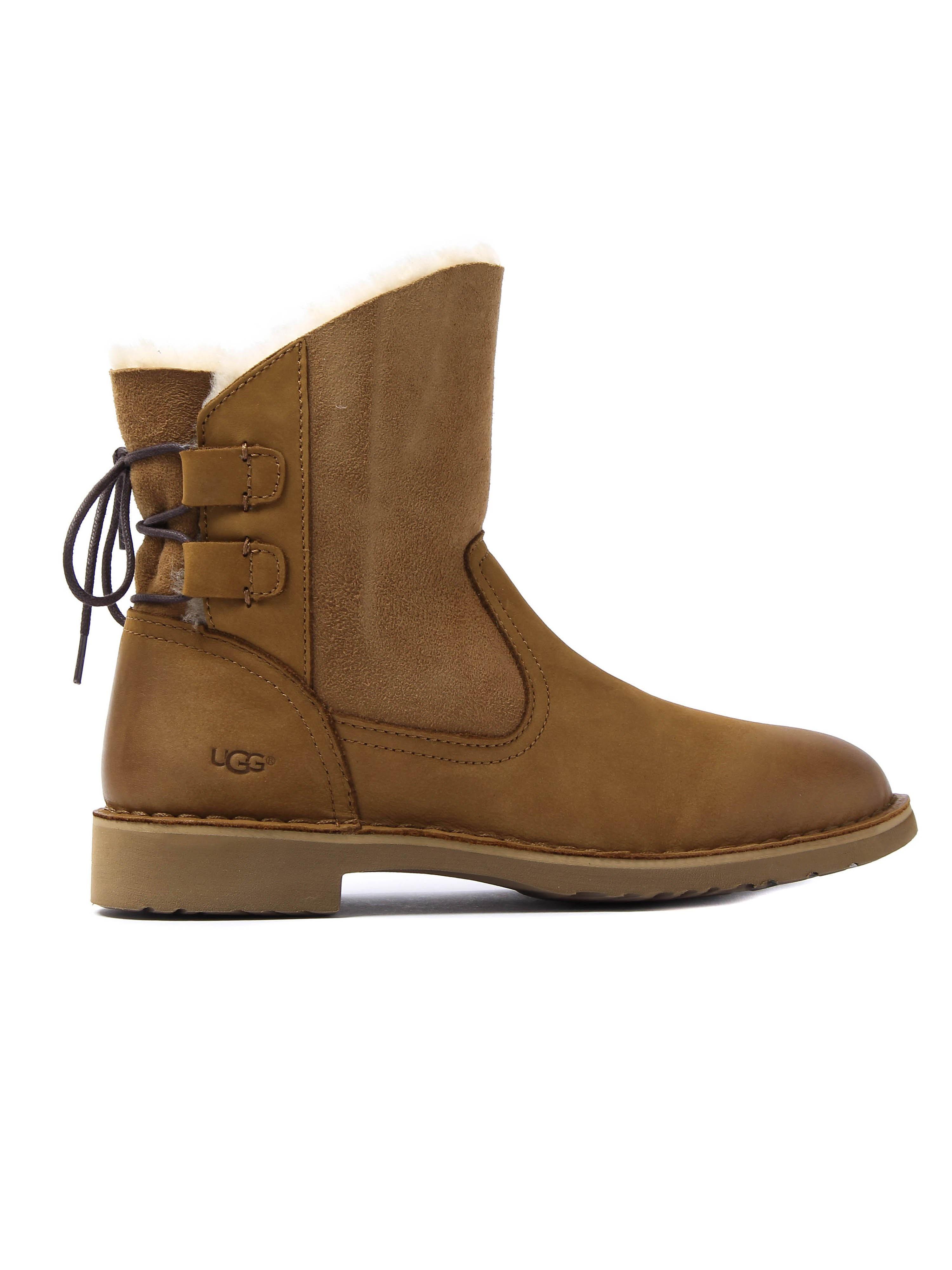 UGG Women's Naiyah Twinface Boots - Chestnut