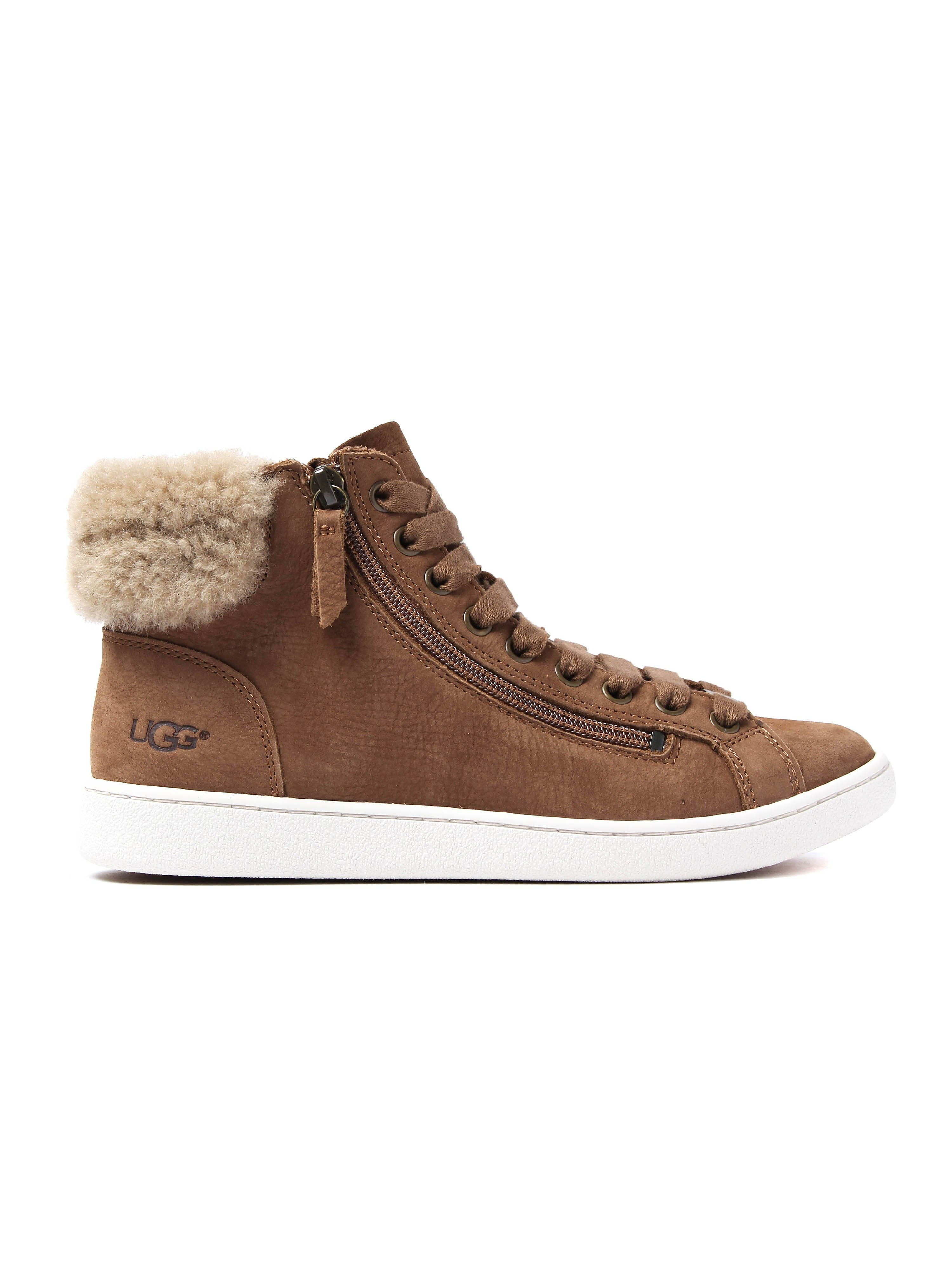 UGG Women's Olive Trainers - Chestnut