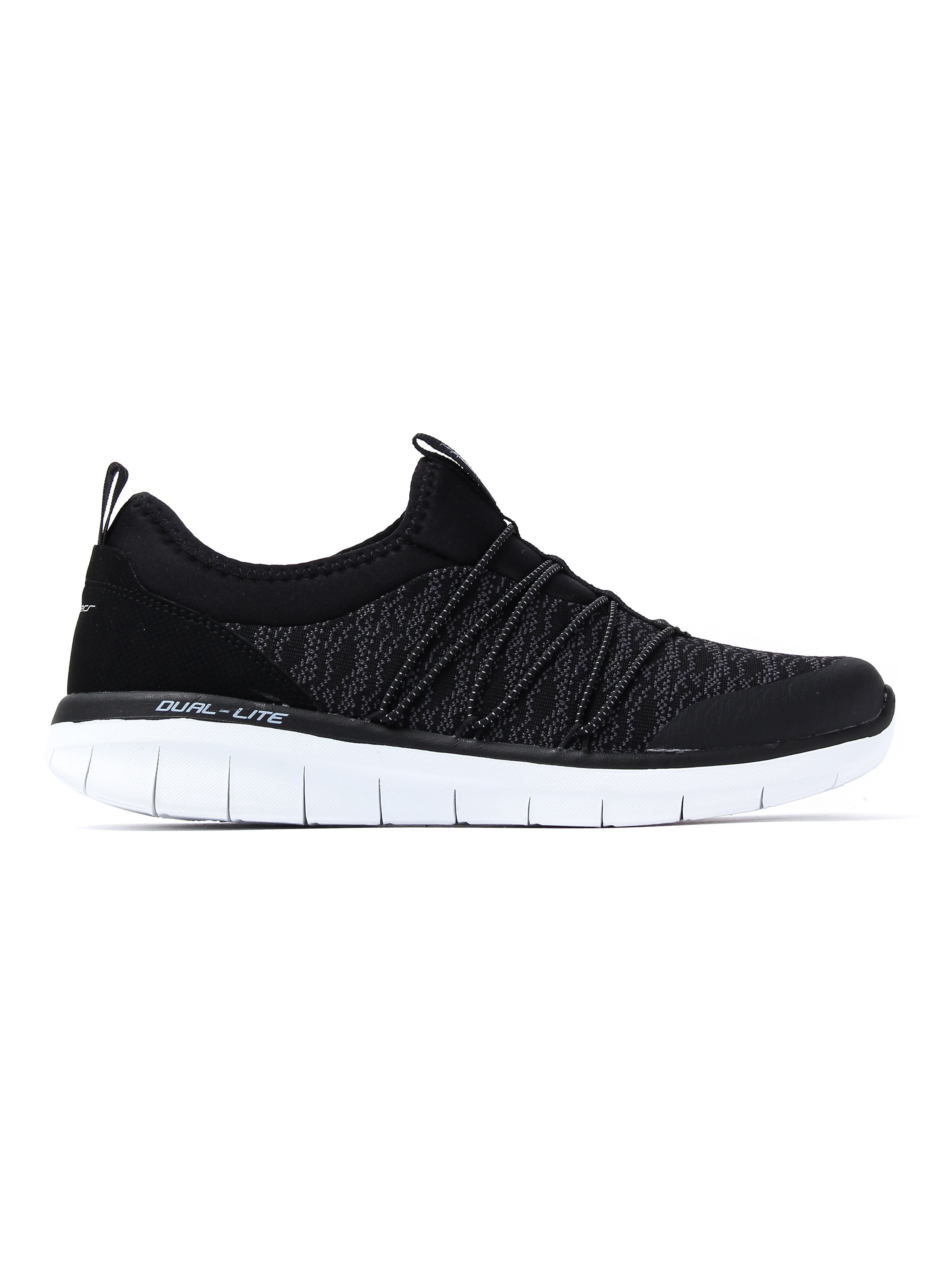 Skechers Women's Synergy 2.0 Simply Chic Trainers - Black / White