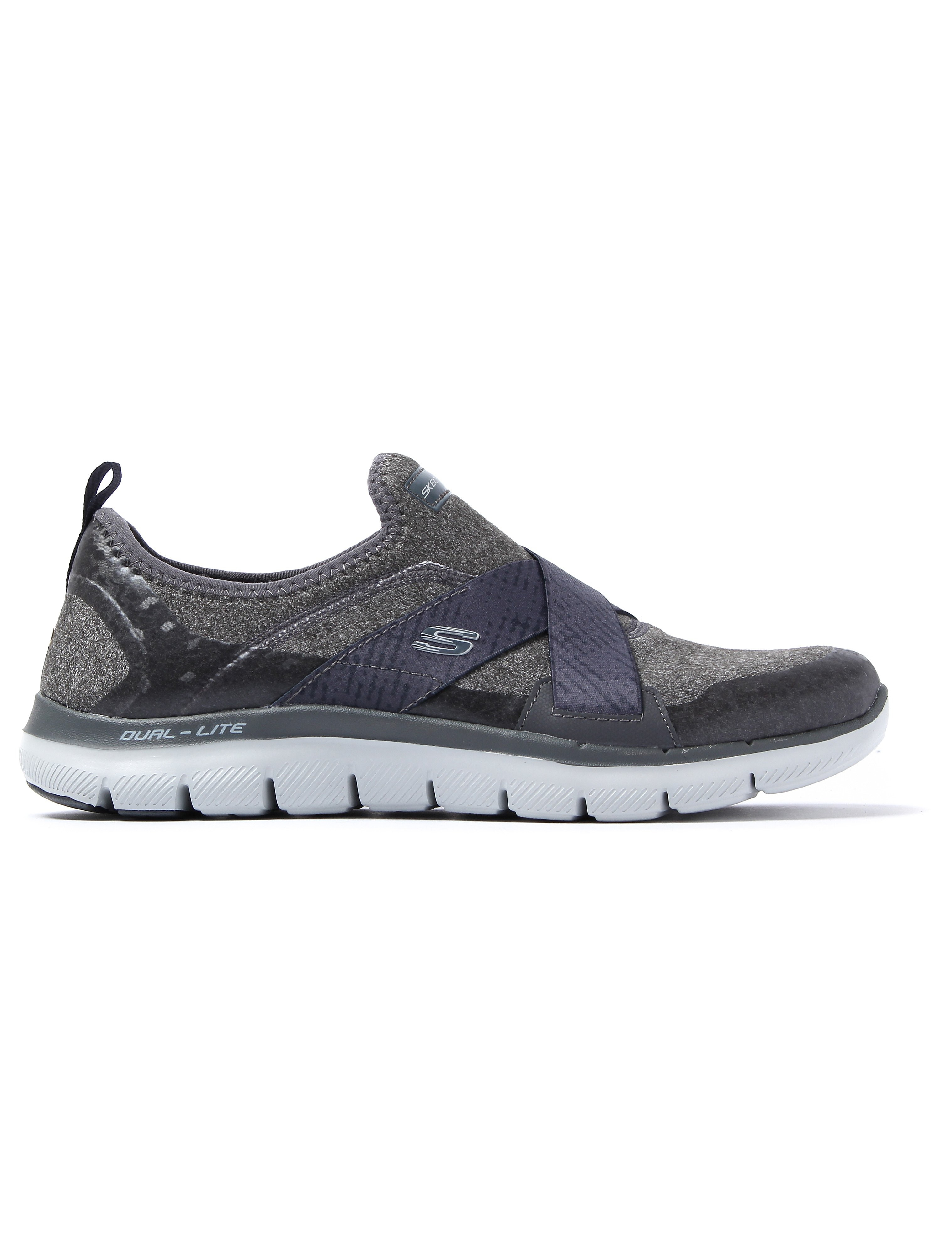 Skechers Women's Flex Appeal 2.0 Bright Eyed Trainers - Charcoal