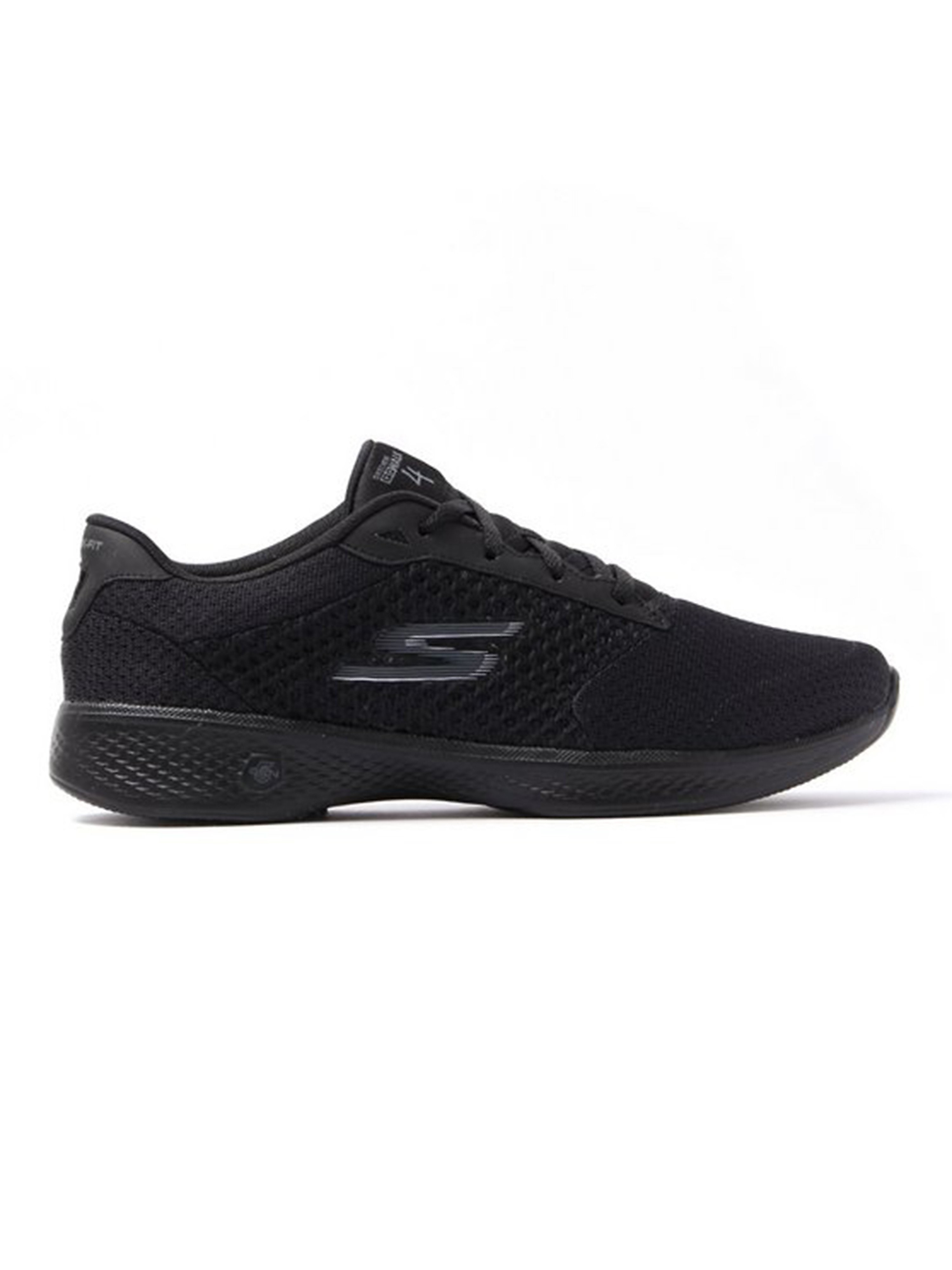 Skechers Womens's Go Walk 4 Exceed Trainers - Black