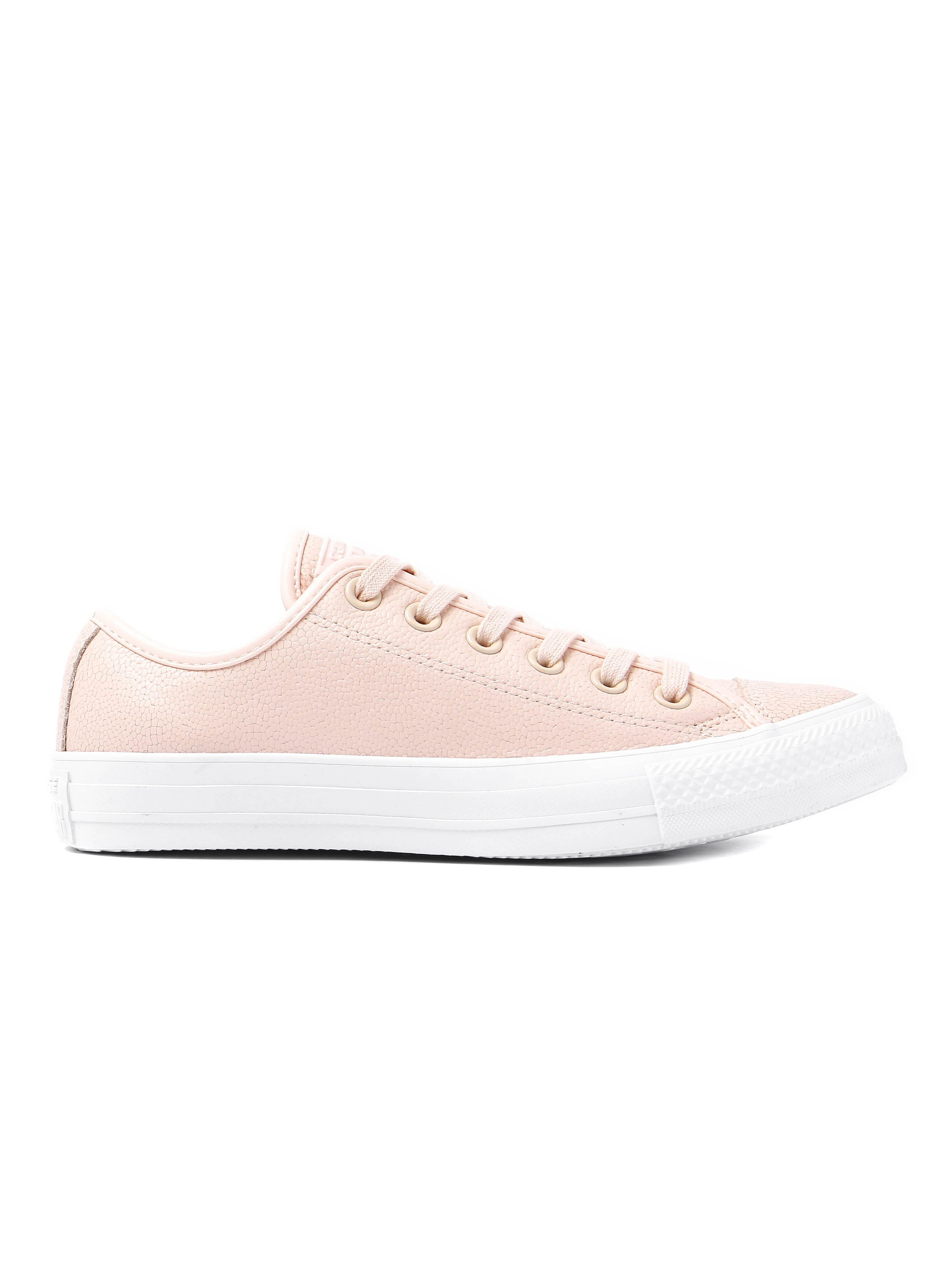 Converse Women's Chuck Taylor All Star OX Trainers - Quartz Orange