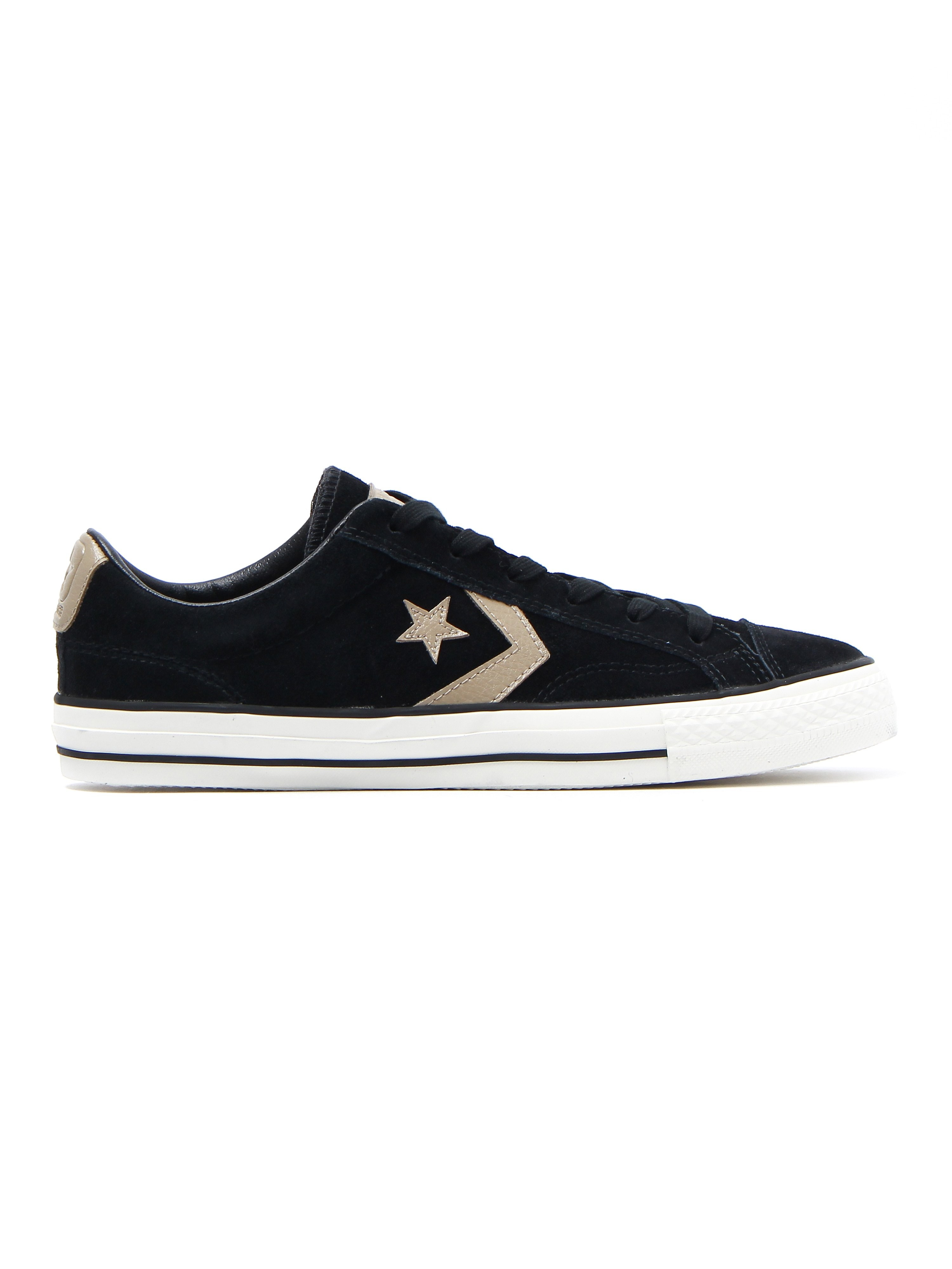 Converse Men's Star Player OX Trainers - Black Suede