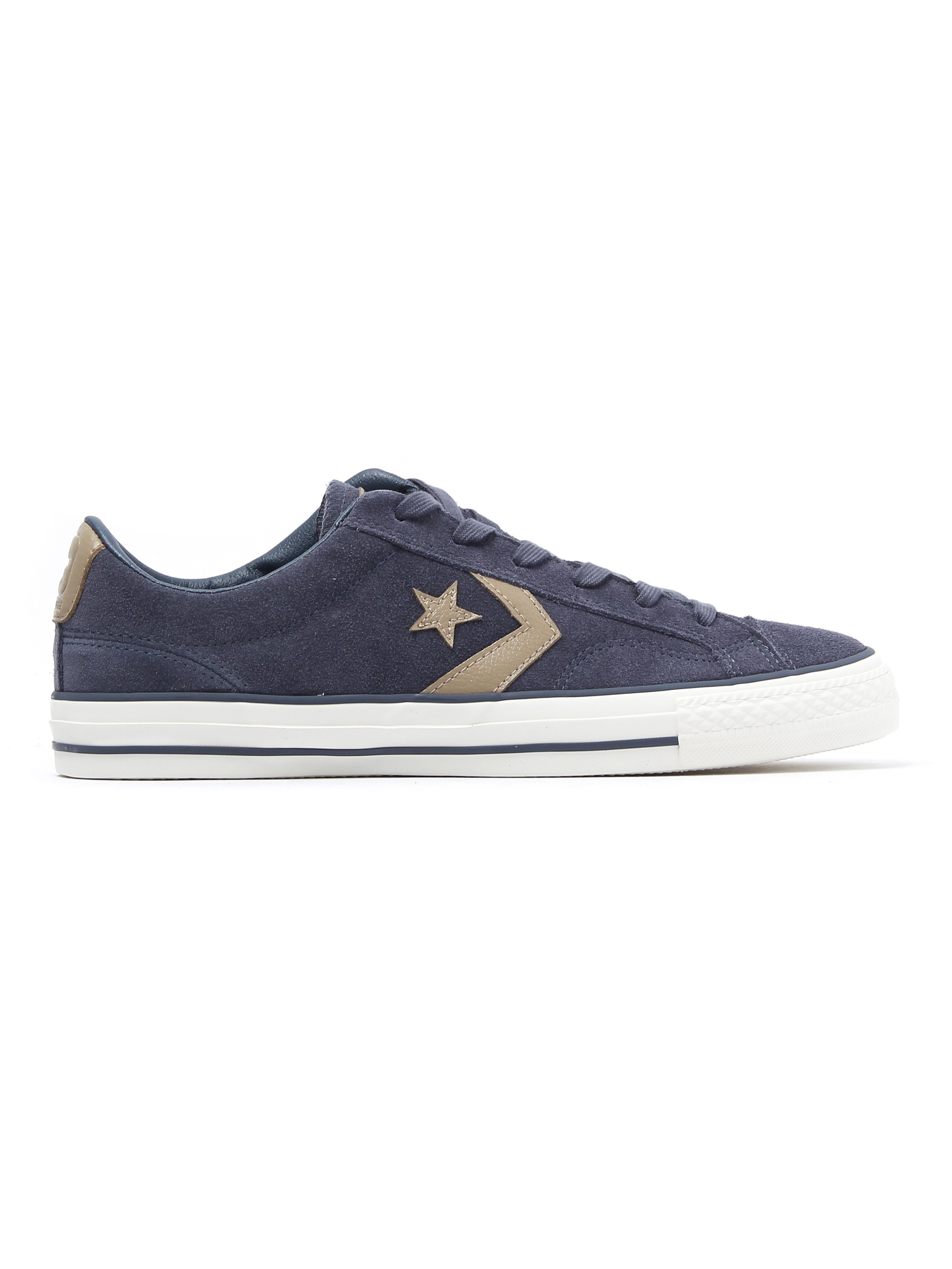 Converse Men's Star Player OX Trainers - Shark Skin Suede