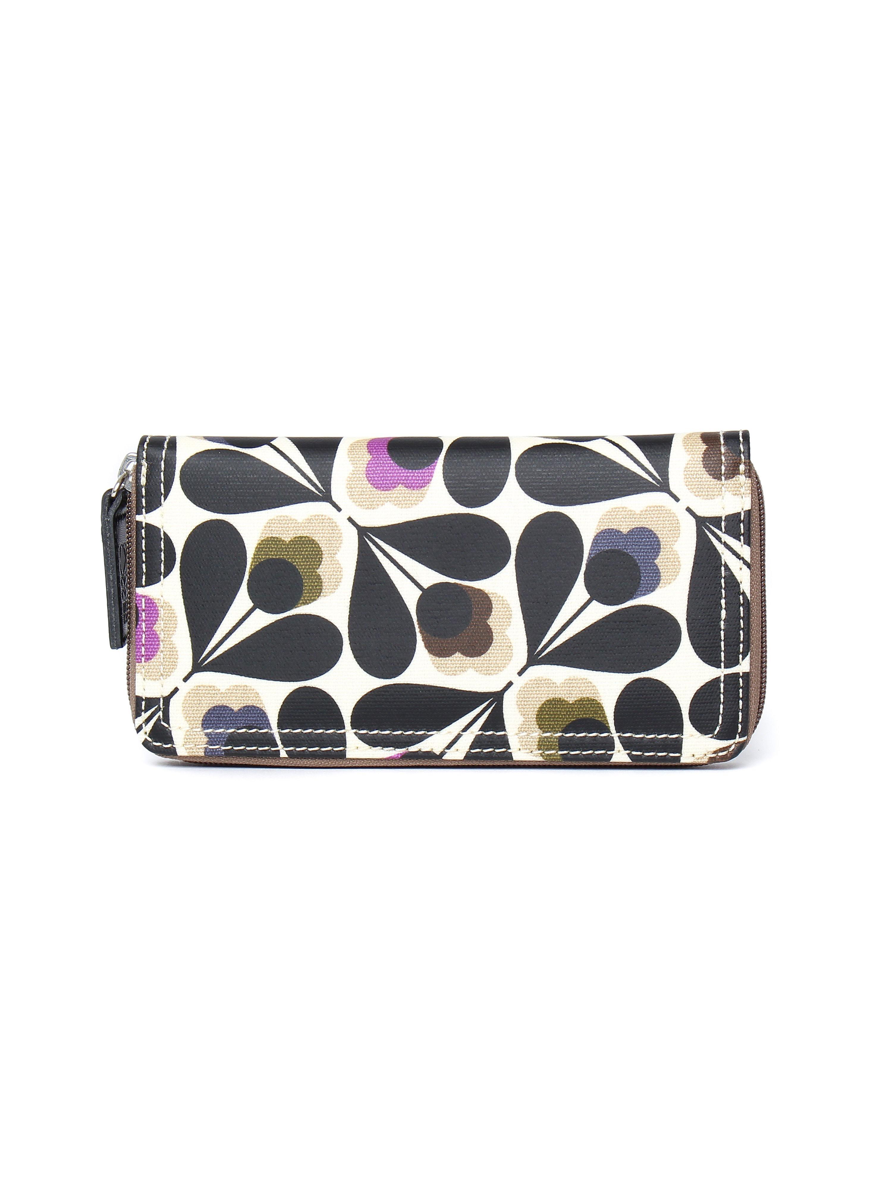 Orla Kiely Women's Big Zip Sycamore Seed Wallet -Multi