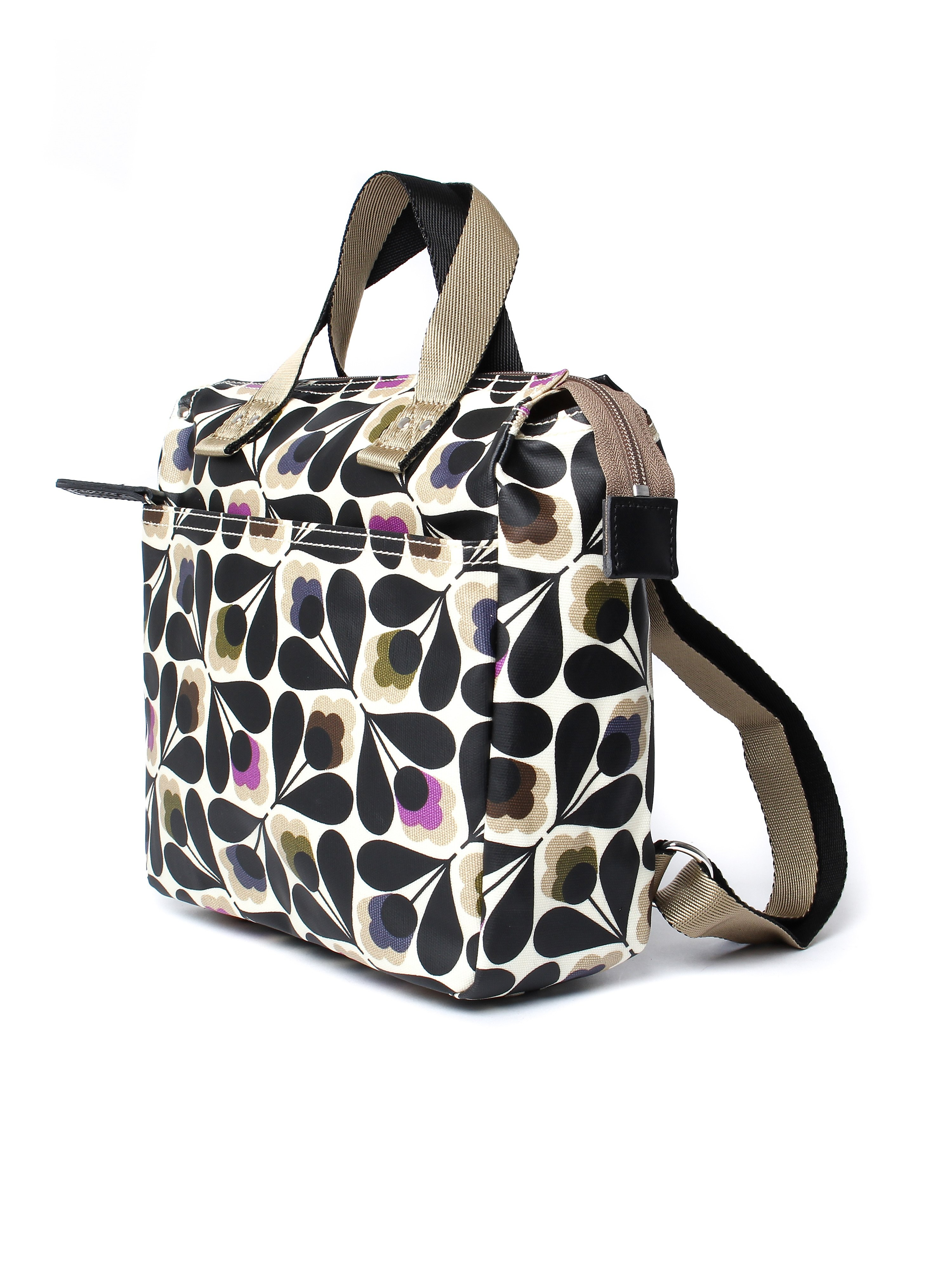 Orla Kiely Women's Backpack Tote - Multi Sycamore Seed