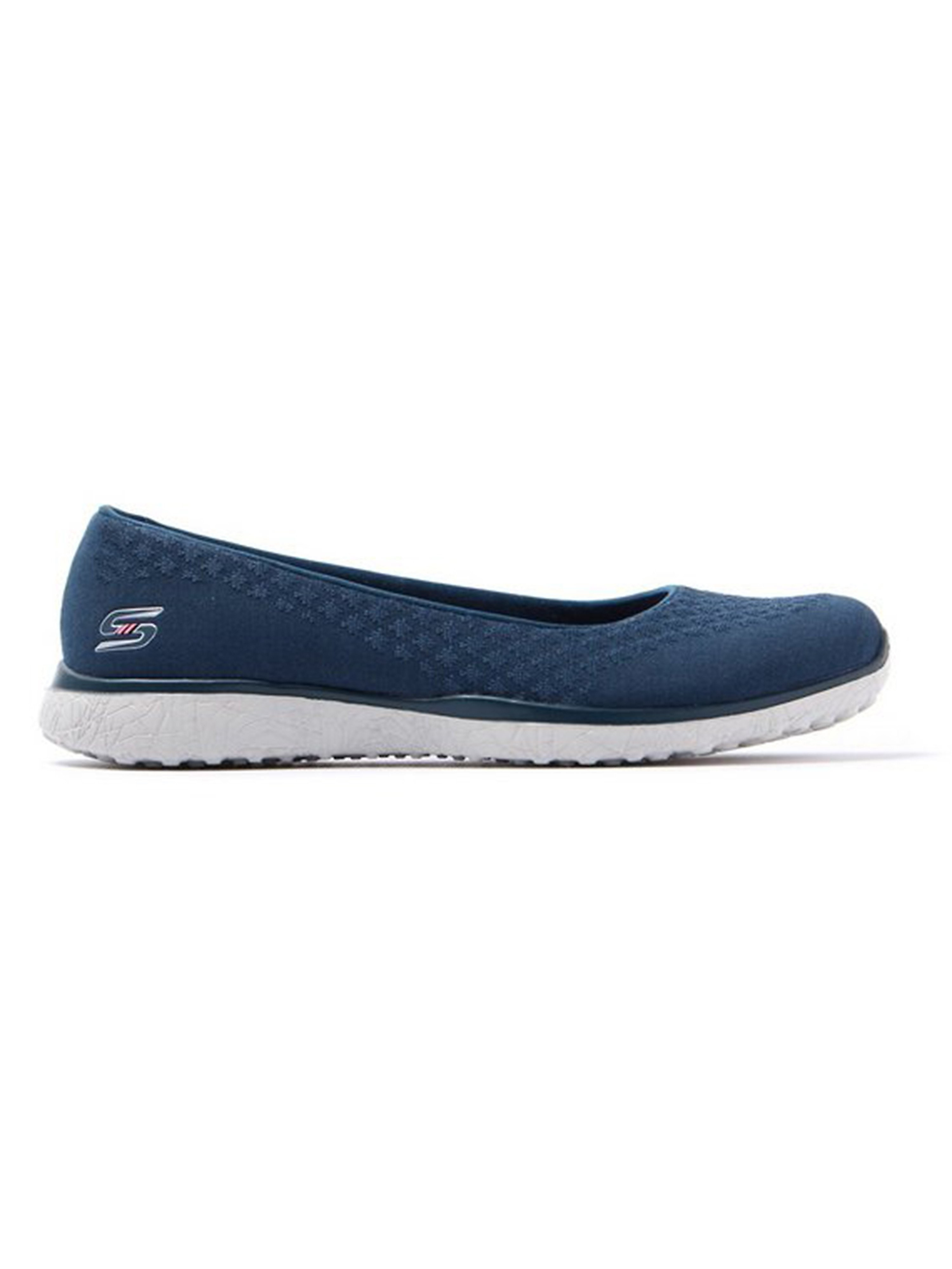 Skechers Women's Microburst One Up Trainers - Navy