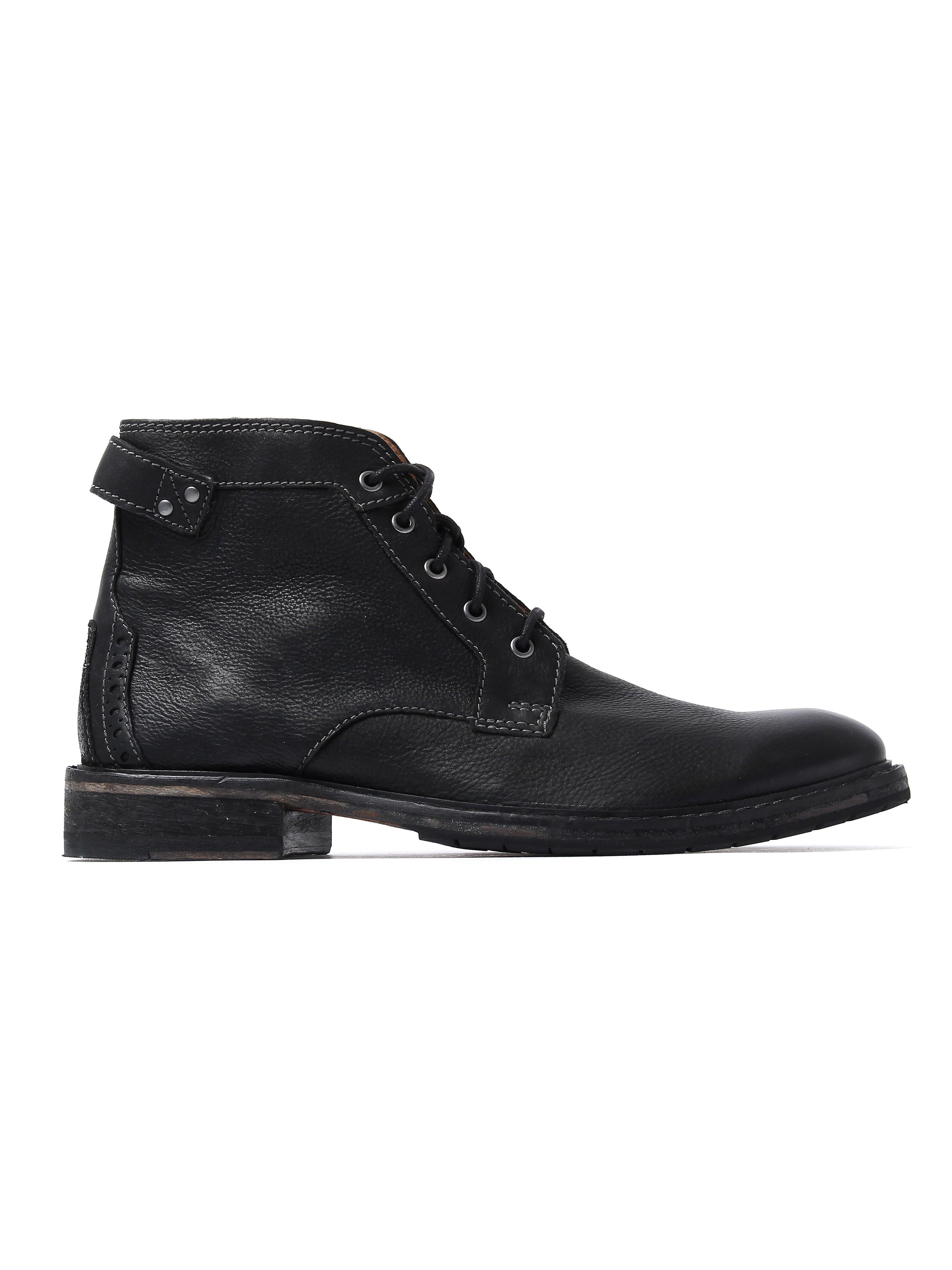 Clarks Men's Clarkdale Bud Boots - Black Leather