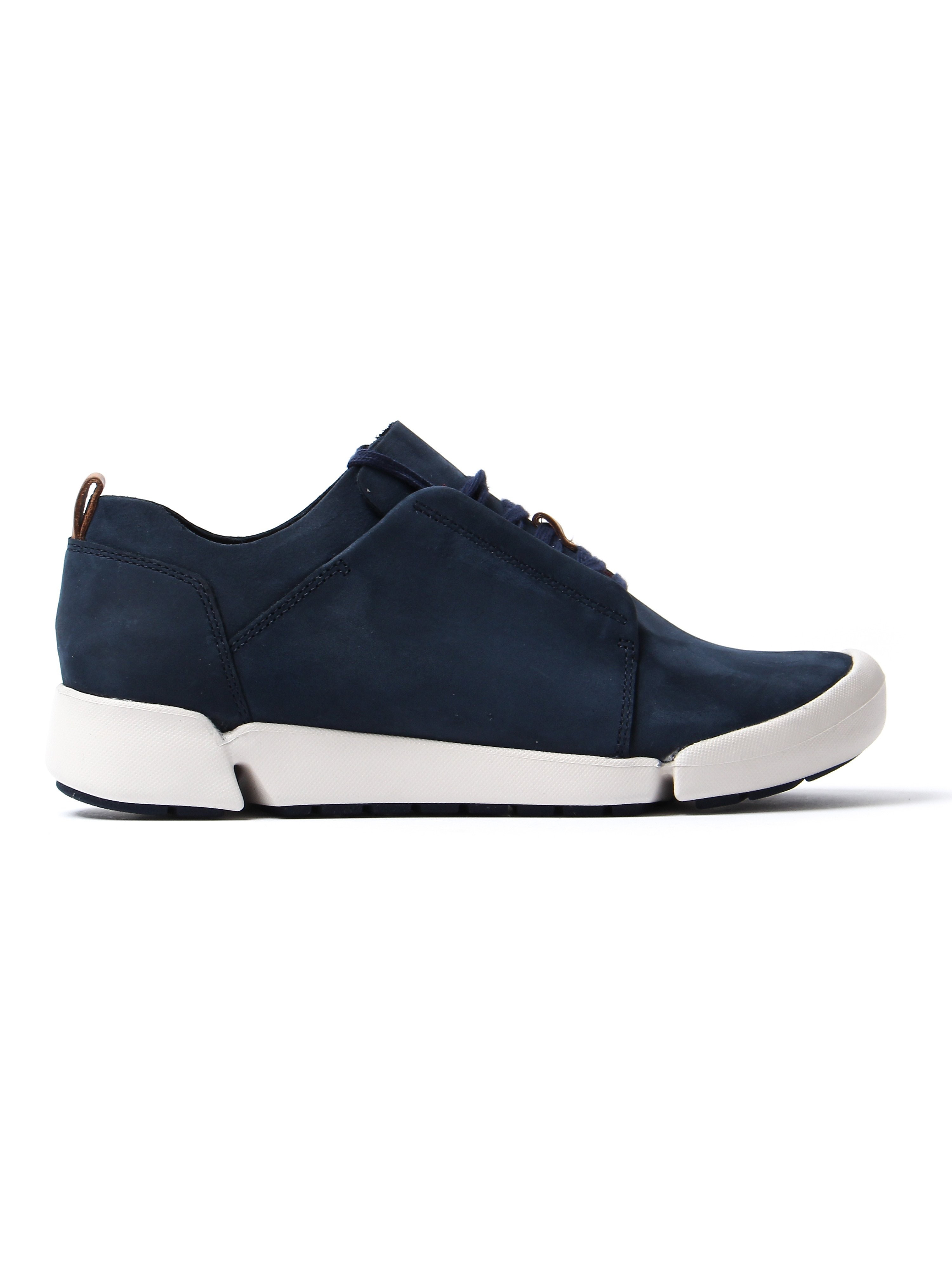 Clarks Women's Tri Bella Shoes - Navy Nubuck