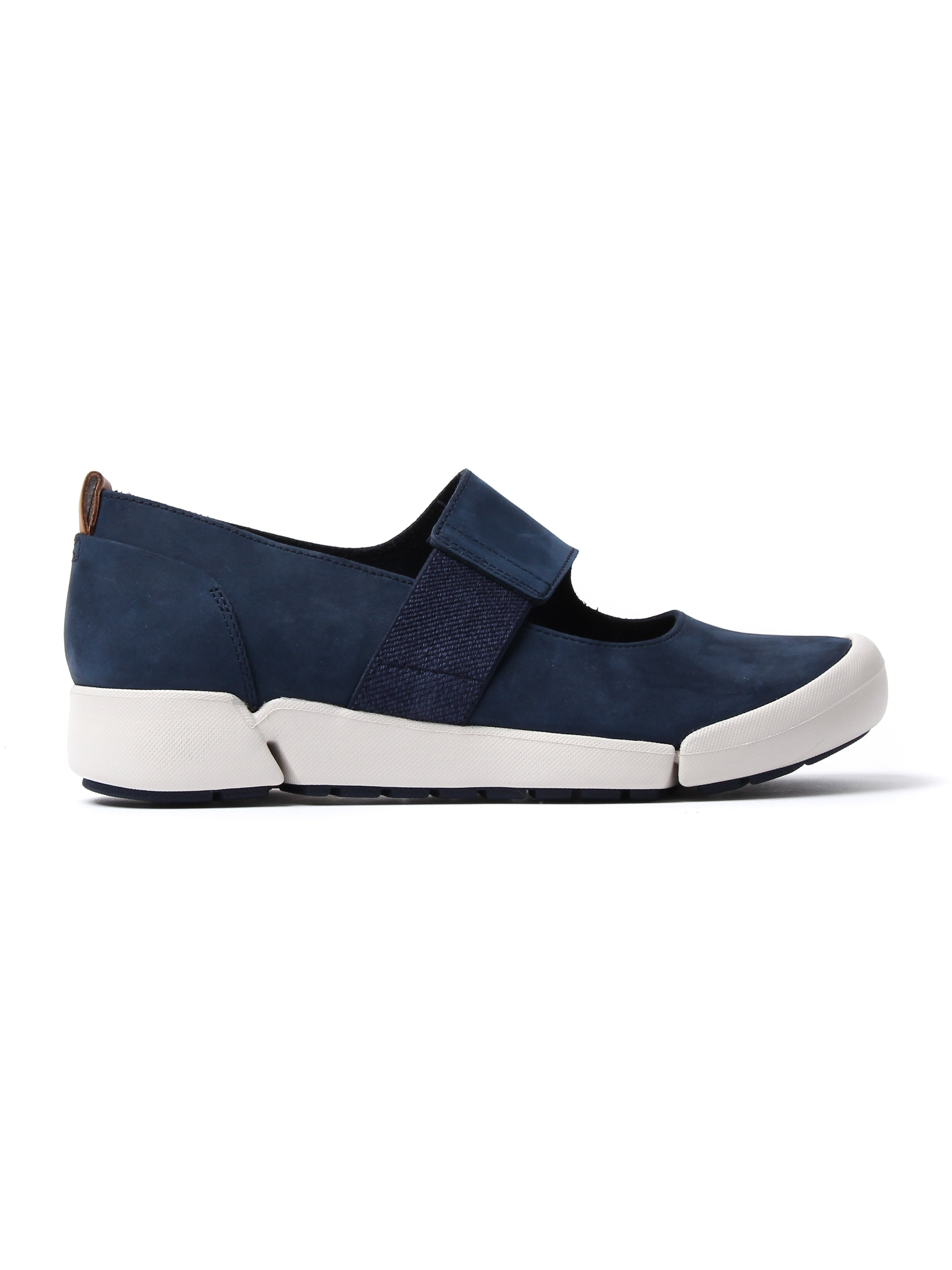 Clarks Women's Tri Ava Shoes - Navy Nubuck