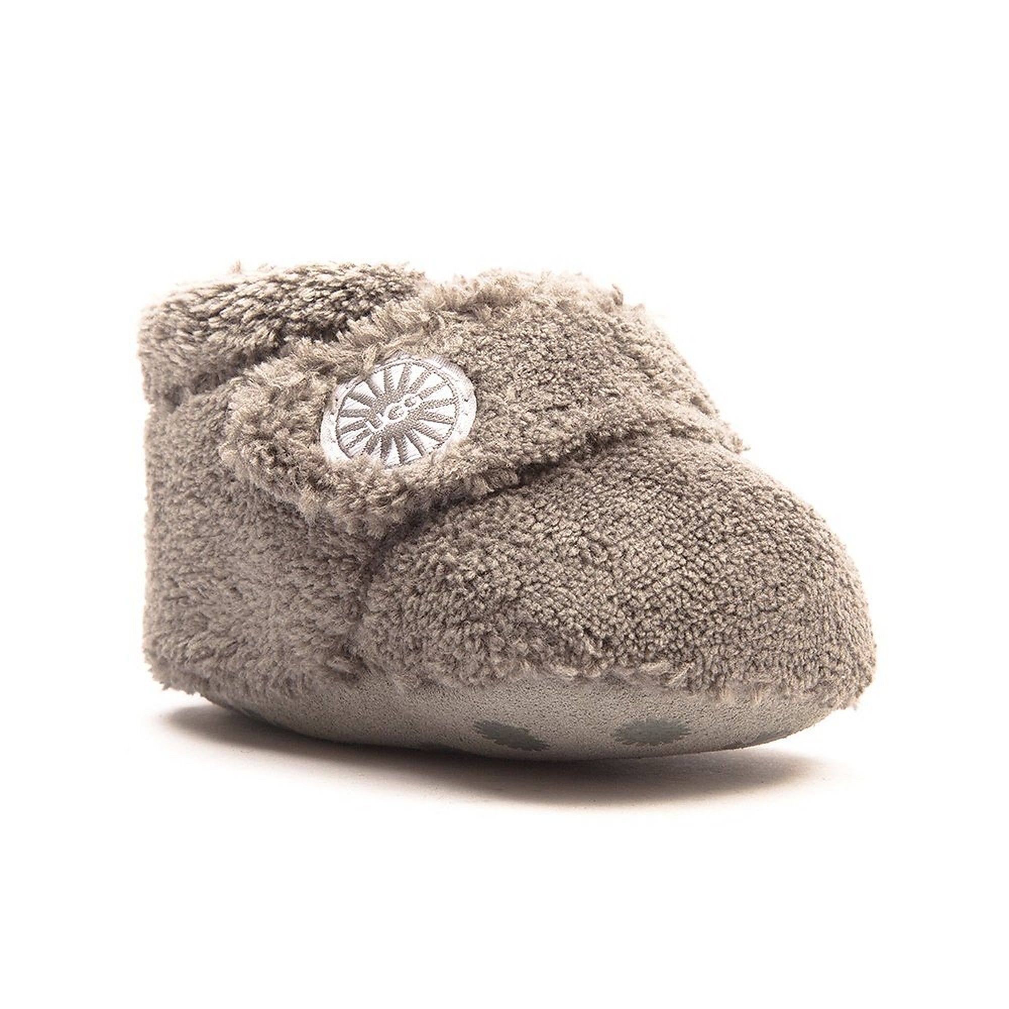 UGG Infant Bixbee Crib Booties - Charcoal