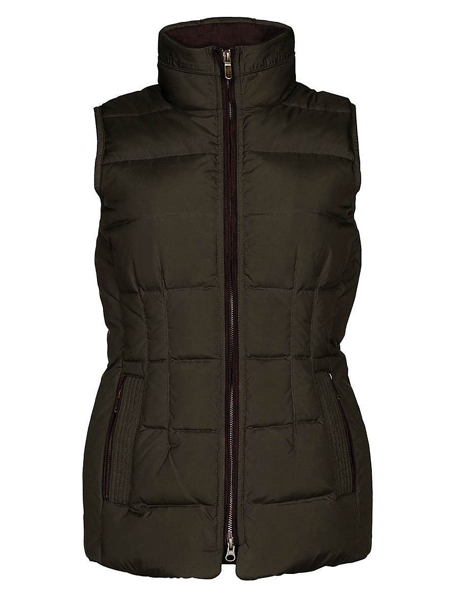 Dubarry Women's Spiddal Down Quilted Gilet - Olive