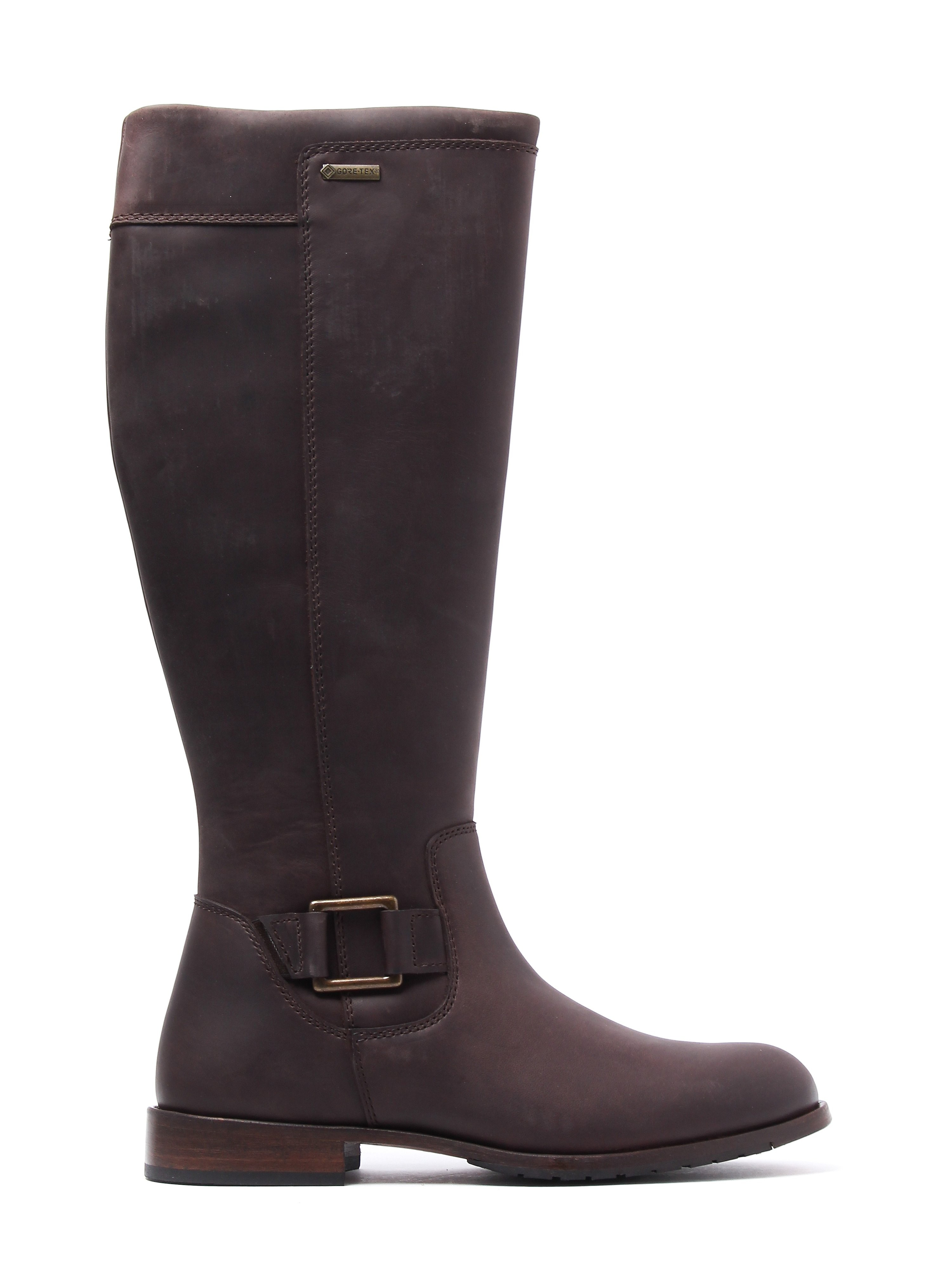 Dubarry Women's Limerick Knee Length Boots - Old Rum Leather