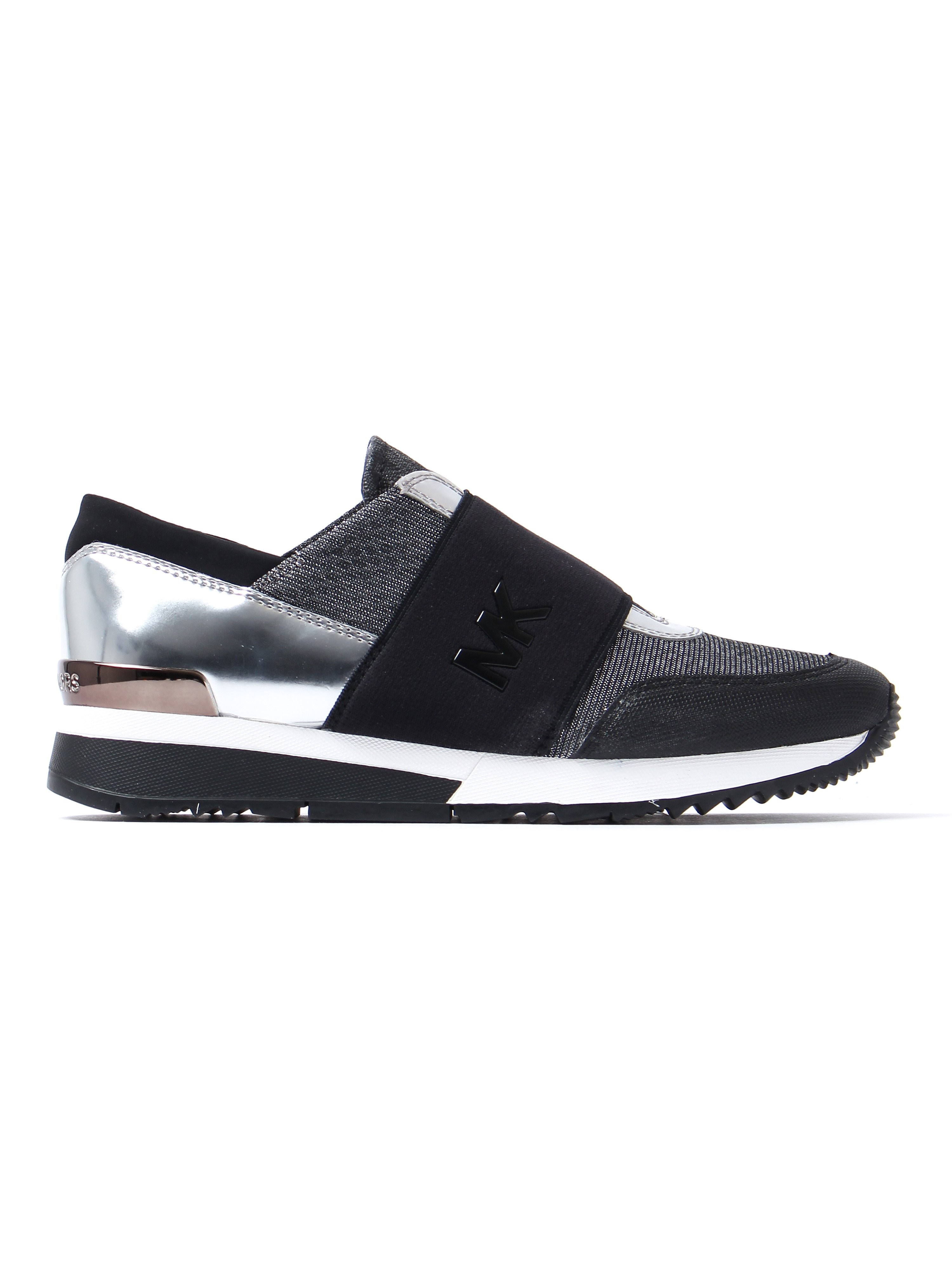 MICHAEL Michael Kors Women's MK Trainers - Black & Gun