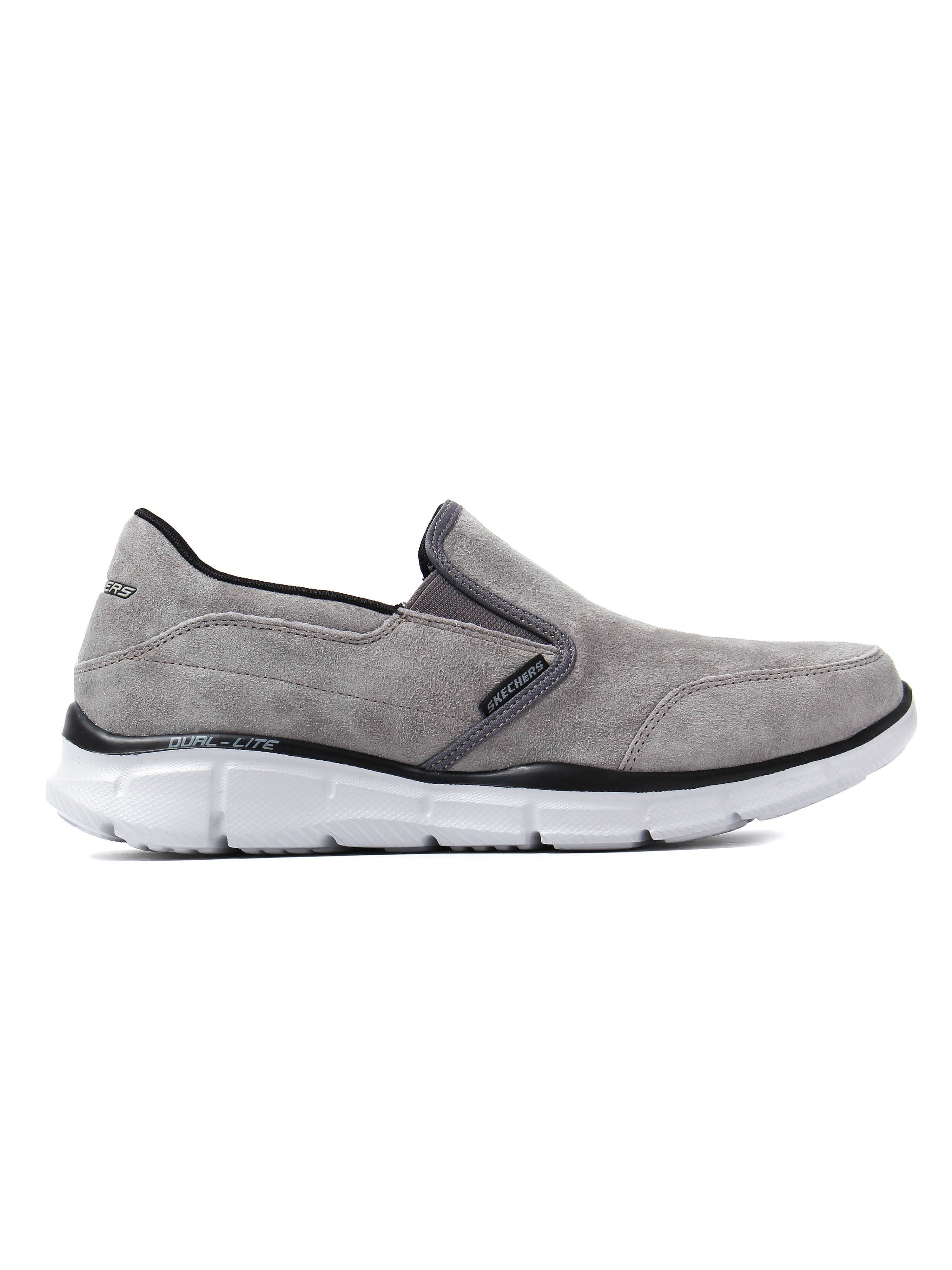 Skechers Men's Equalizer Mind Game - Charcoal Suede
