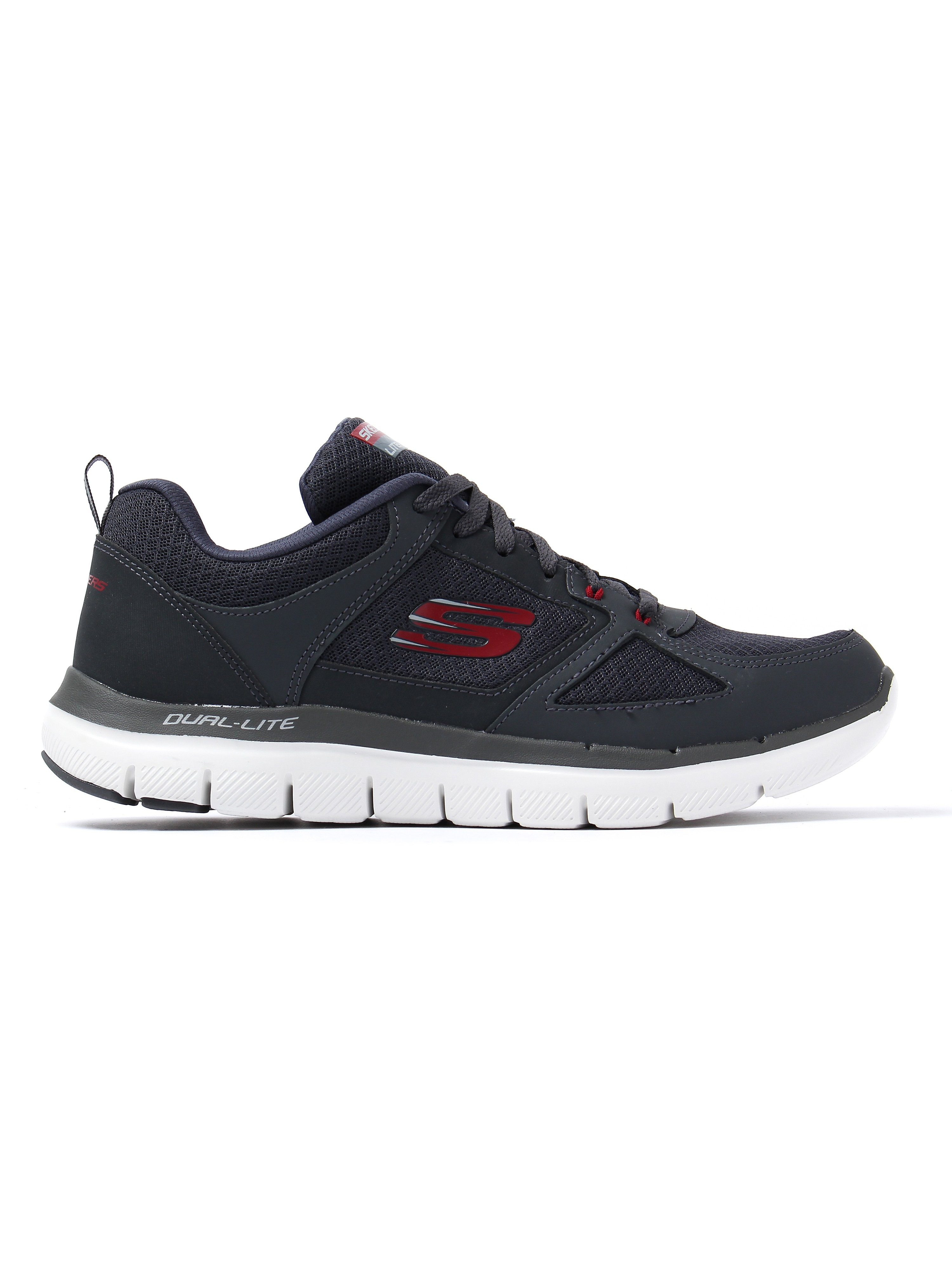 Skechers Men's Flex Advantage 2.0 Lindman Trainers - Charcoal