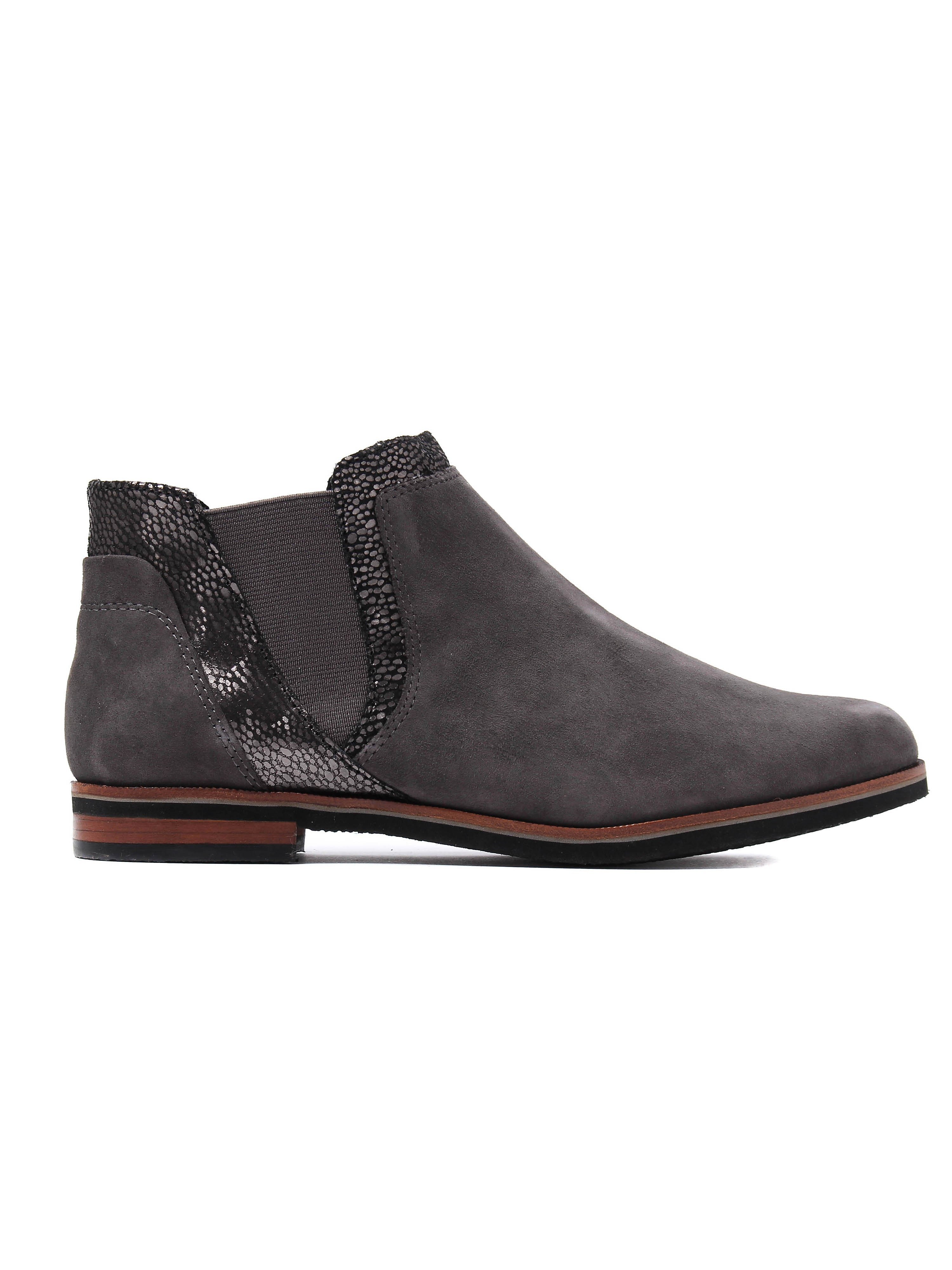 Caprice Women's Chelsea Boots - Anthracite Suede