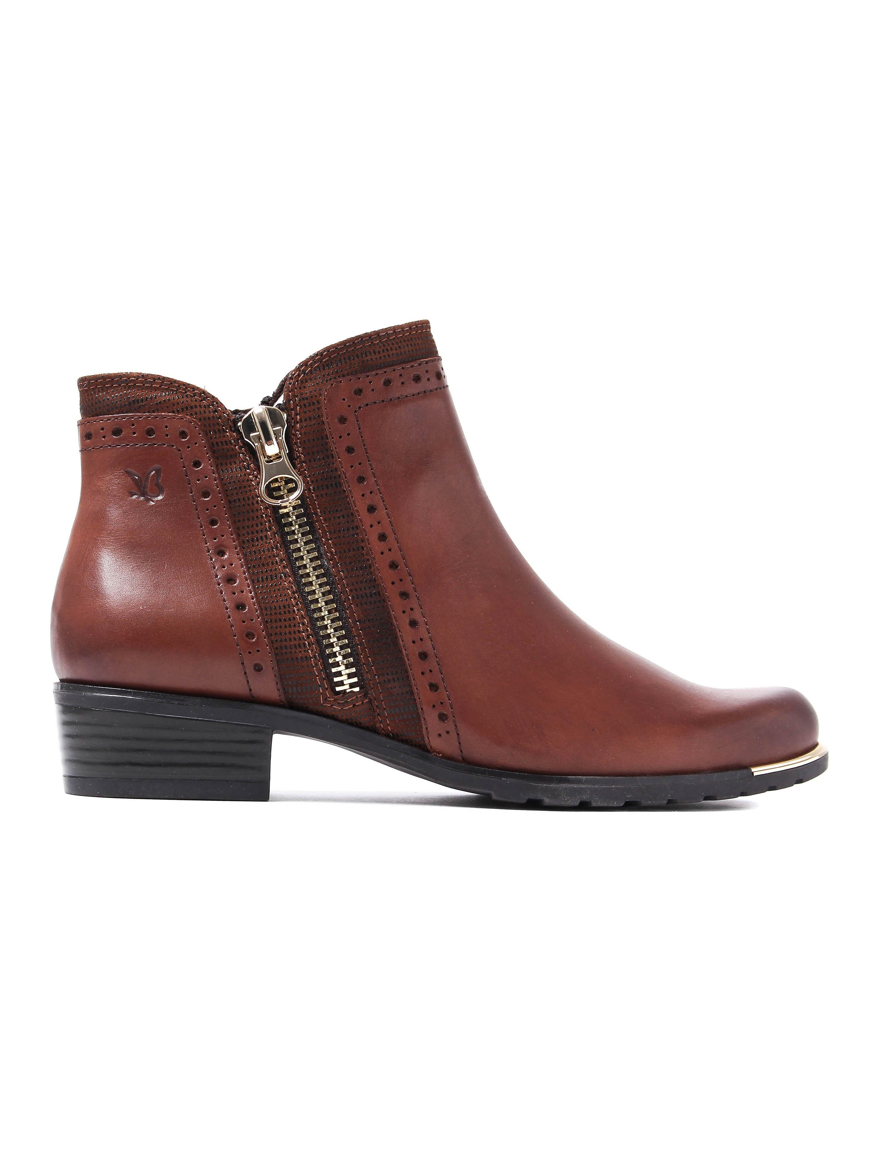 Caprice Women's Kelli Boots - Cognac