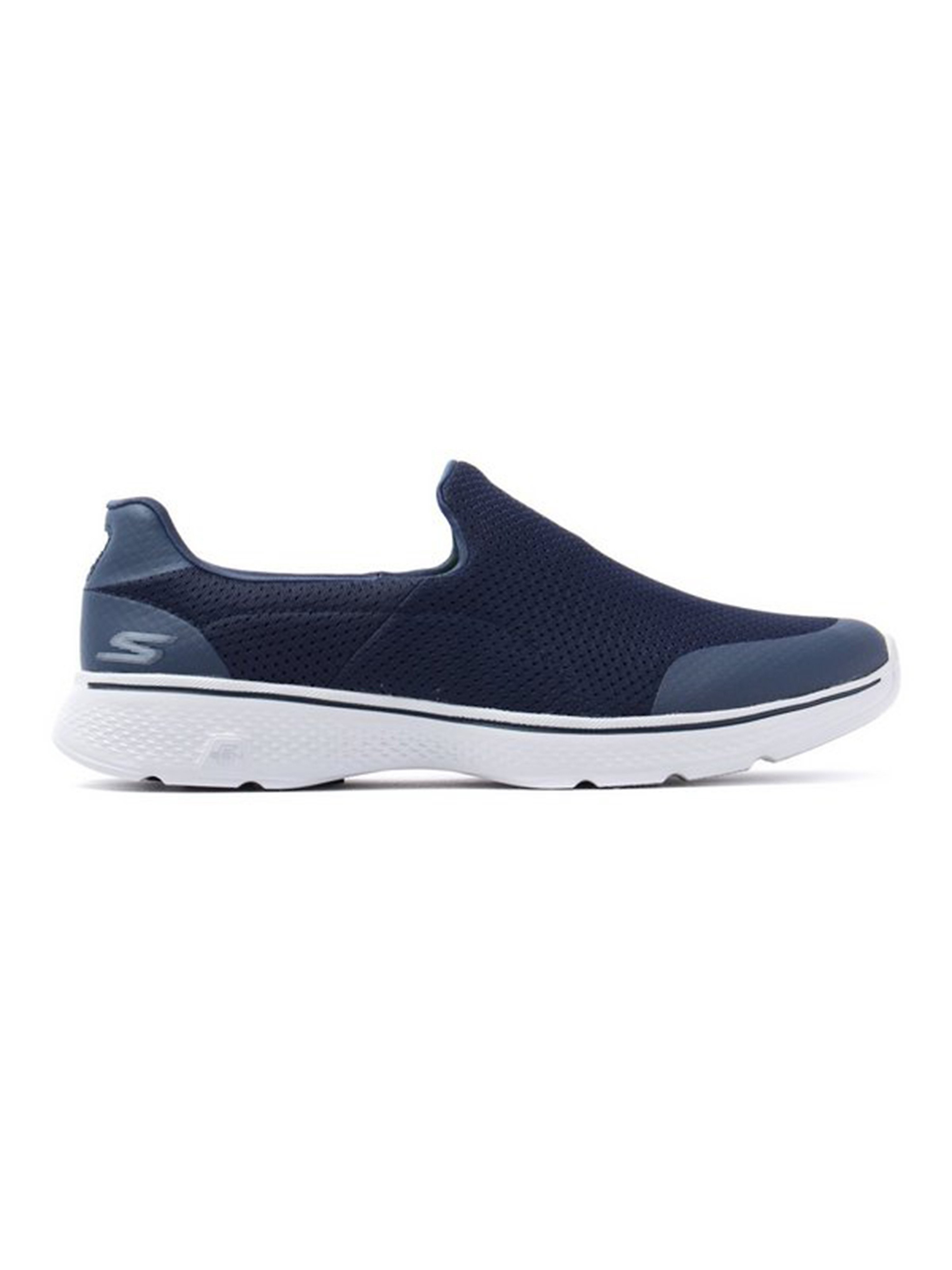Skechers Men's Go Walk 4 Incredible Trainers - Navy/Grey