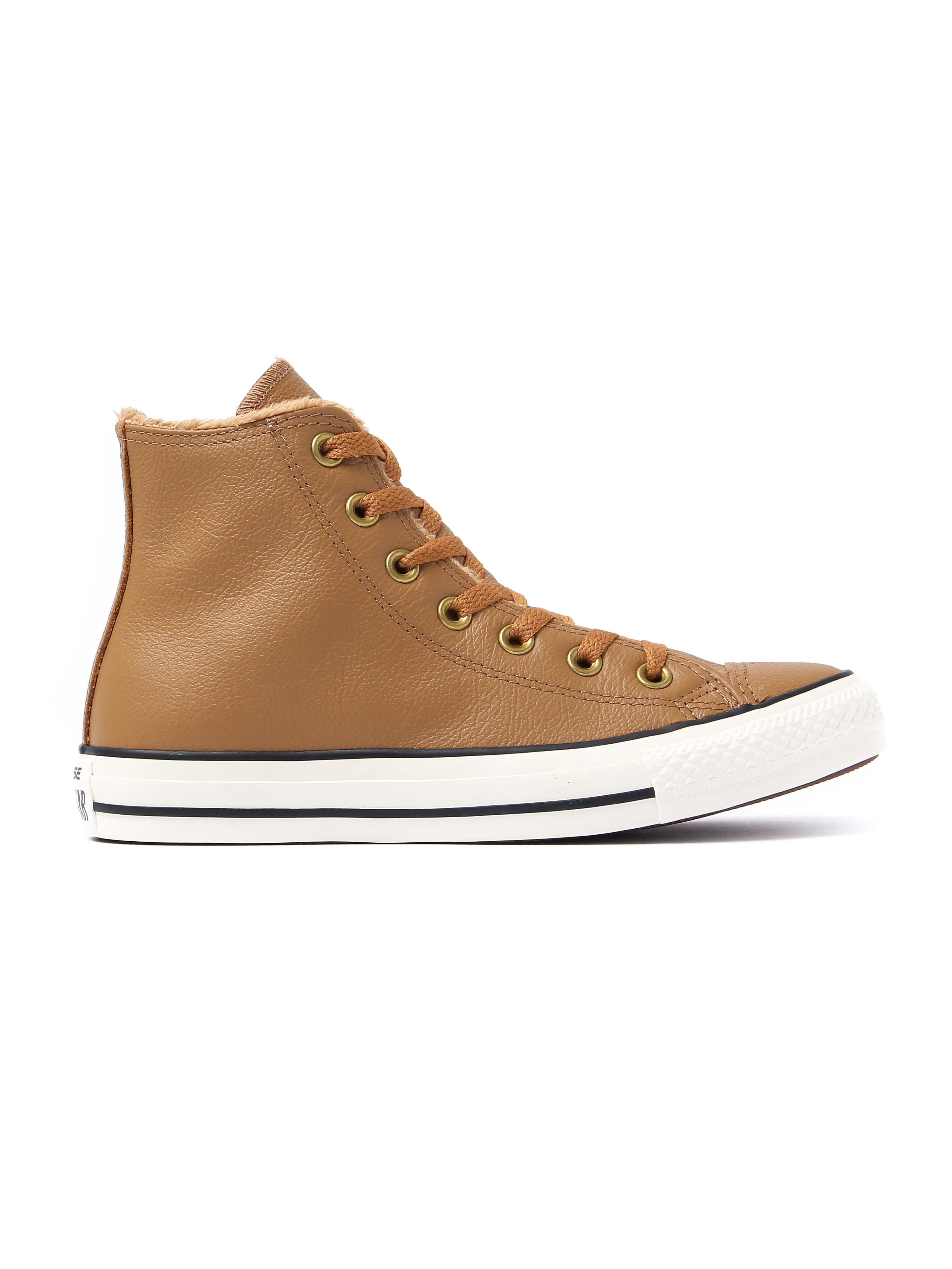 Converse Women's Chuck Taylor All Star HI Trainers - Chipmunk Leather