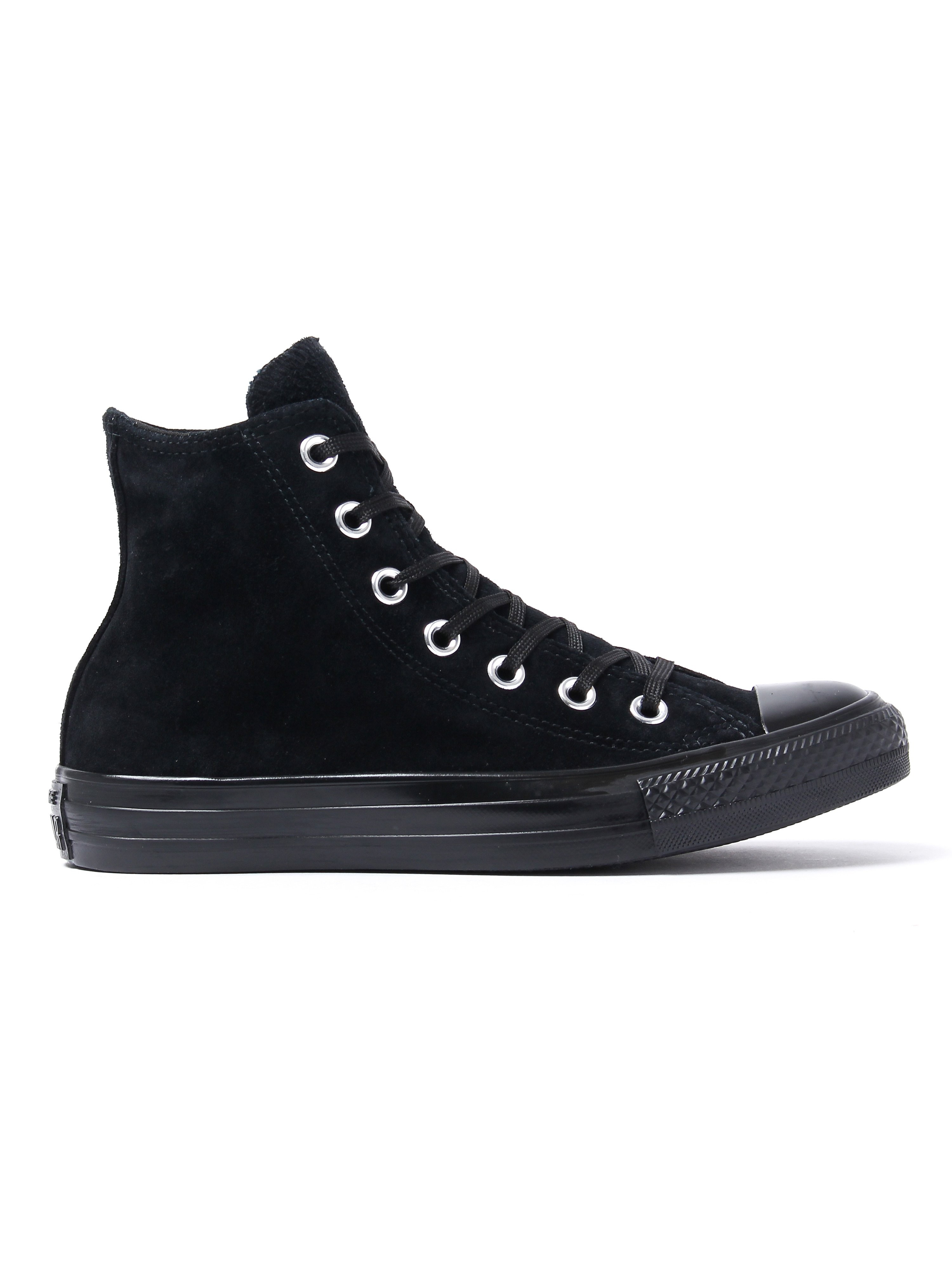 Converse Women's Chuck Taylor All Star HI Counter Climate Trainers - Black Suede