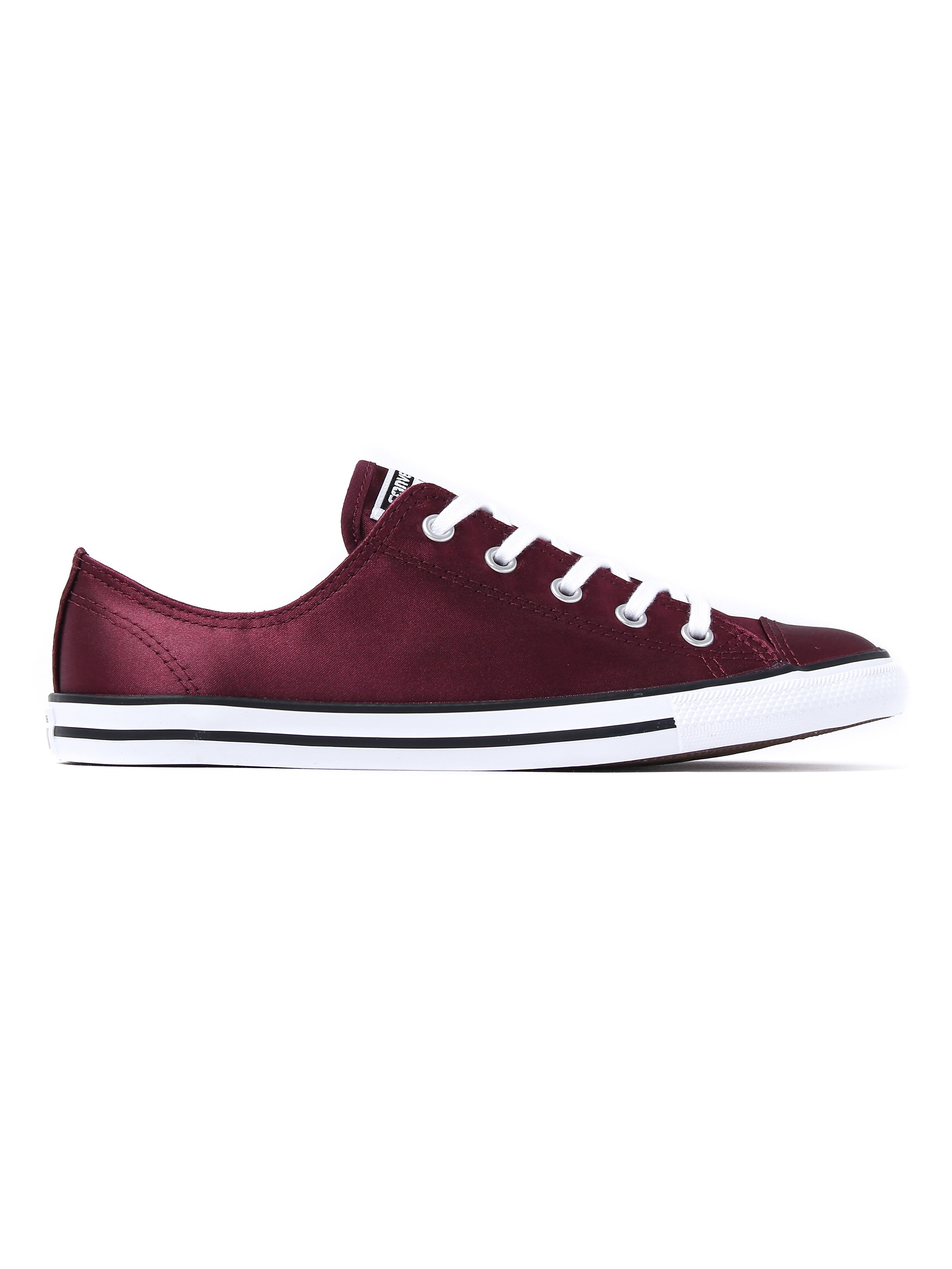 Converse Women's All Star Dainty OX Canvas Trainers - Dark Sangria