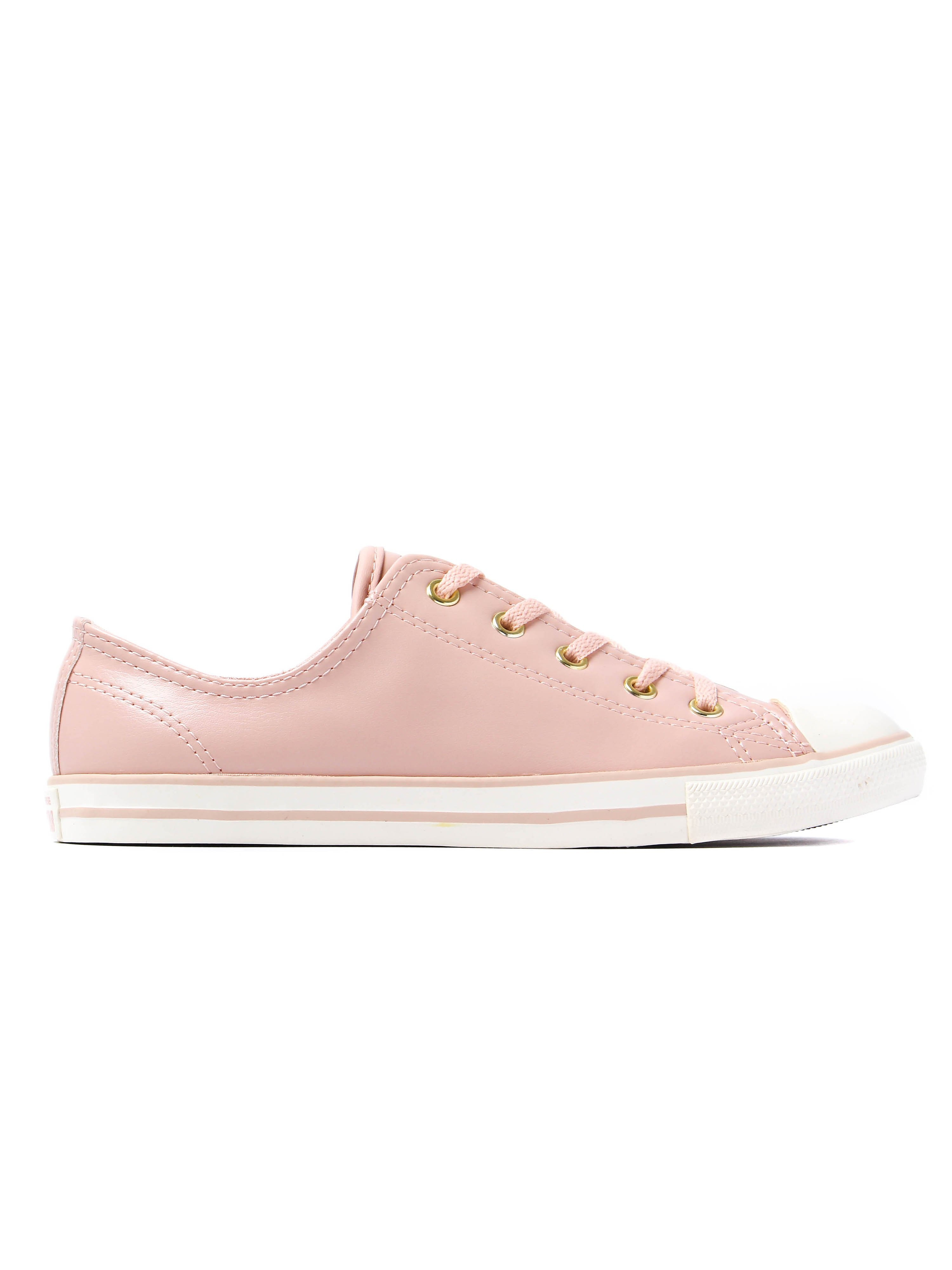 Converse Women's Chuck Taylor All Star Dainty OX Trainers - Dusk Pink